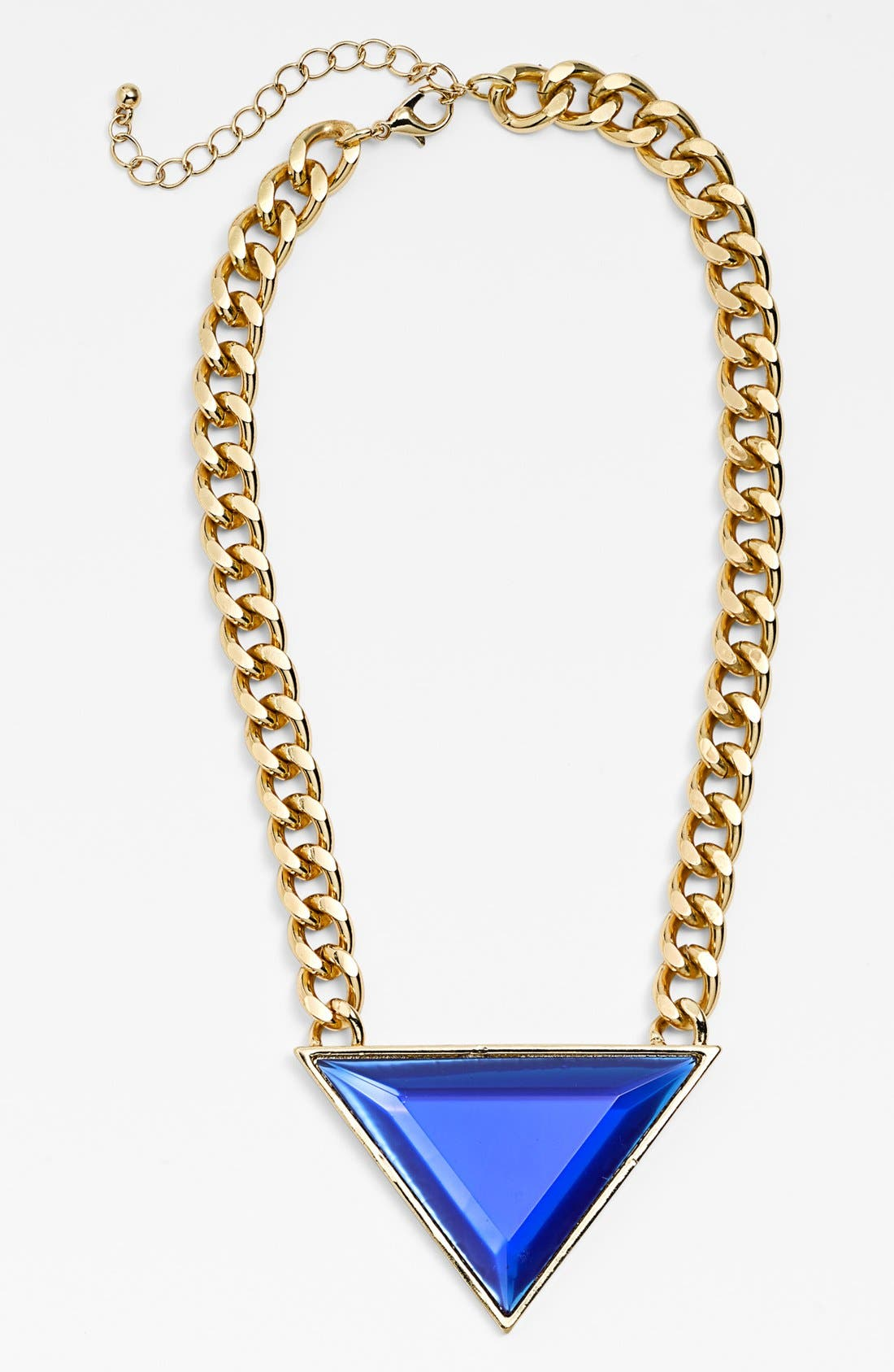 Main Image - Leith Triangle Pendant Necklace