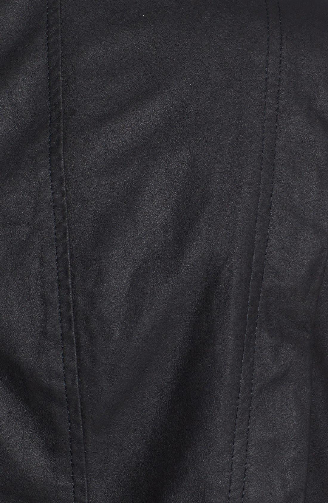 Alternate Image 4  - Vince 'Paper' Leather Vest