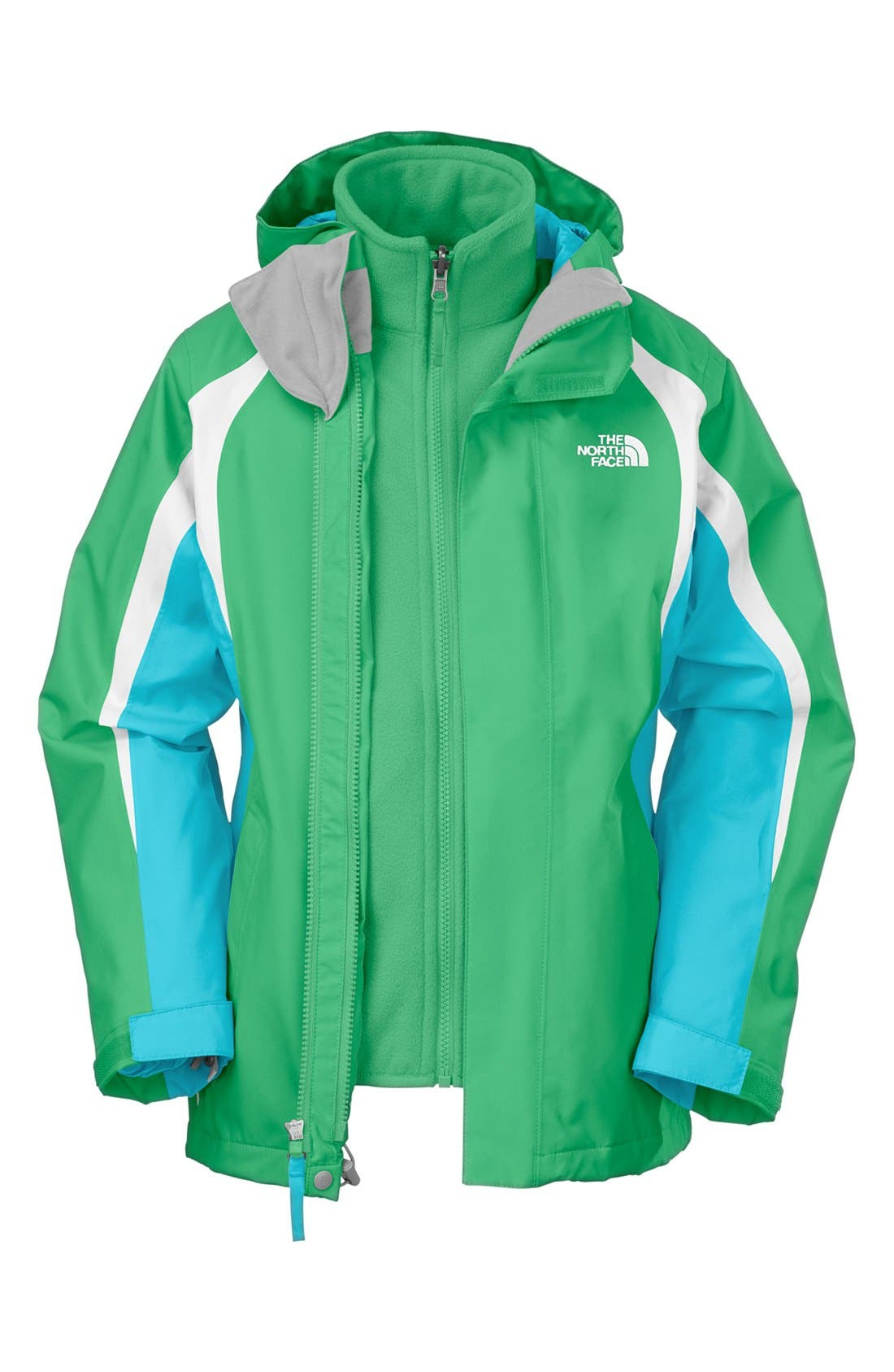 Alternate Image 1 Selected - The North Face 'Mountain View TriClimate®' Jacket (Little Girls & Big Girls)