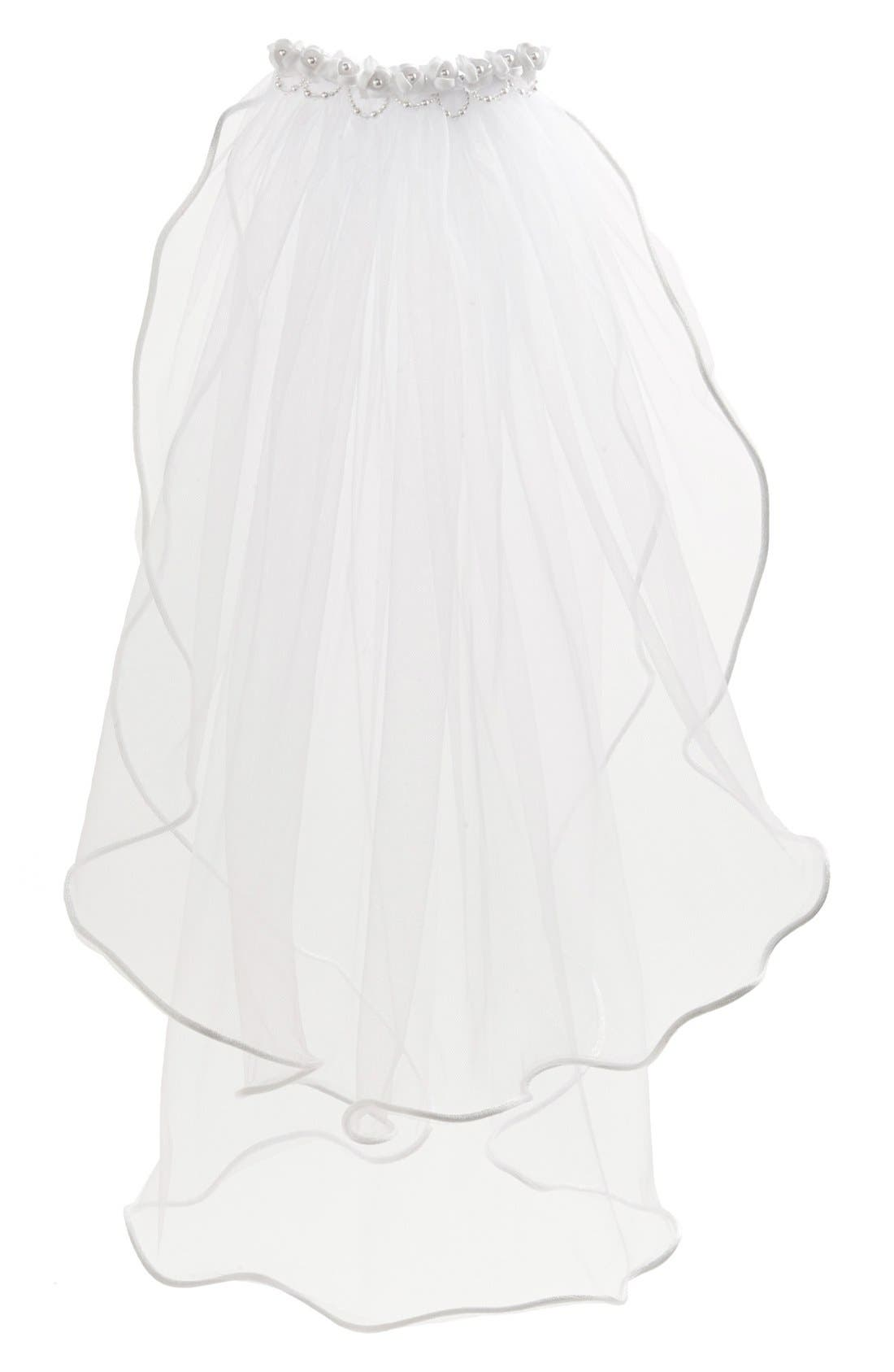 Alternate Image 1 Selected - Lauren Marie First Communion Veil