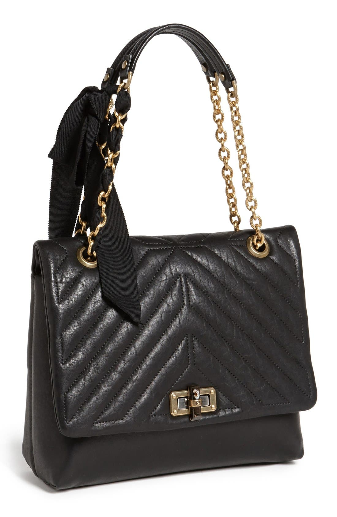 Alternate Image 1 Selected - Lanvin 'Happy' Quilted Flap Shoulder Bag