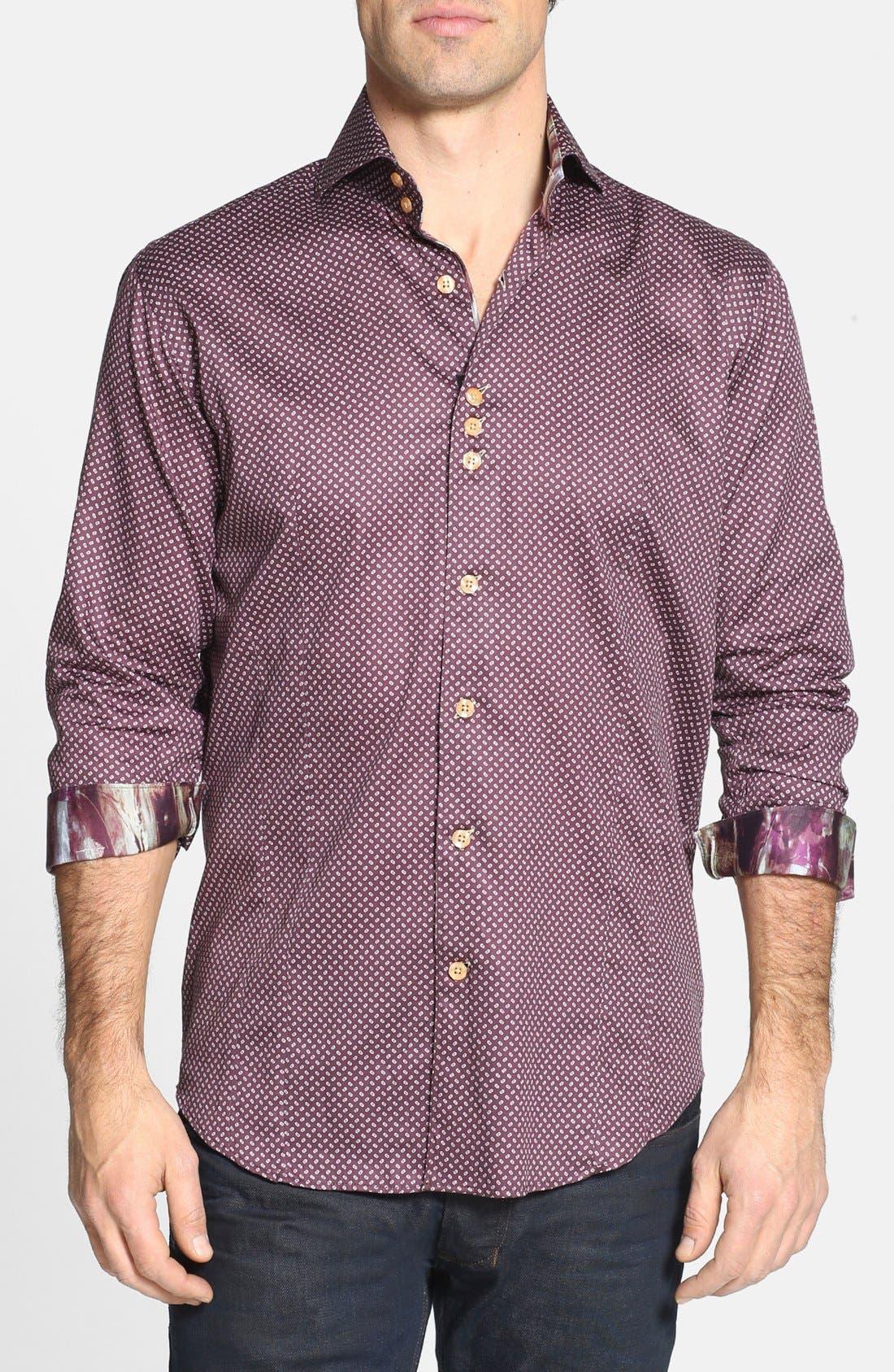 Alternate Image 1 Selected - Bogosse 'D-Rey' Trim Fit Sport Shirt