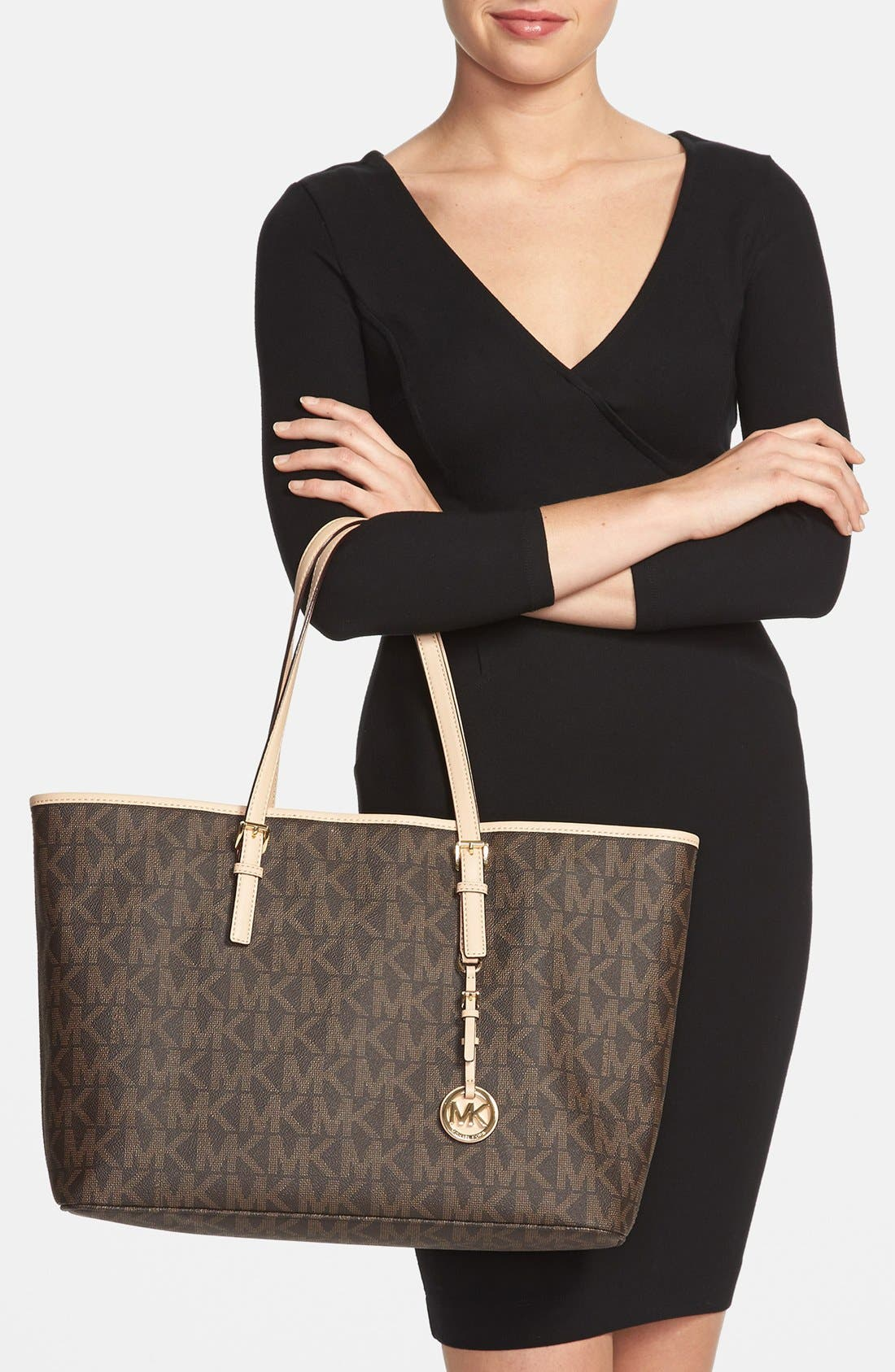Alternate Image 2  - MICHAEL Michael Kors 'Jet Set - Medium' Tech Tote