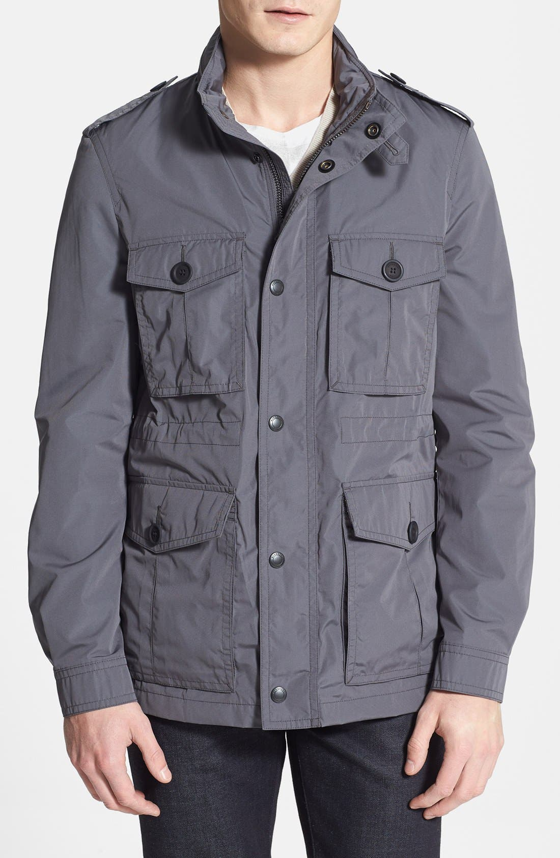 Alternate Image 1 Selected - Burberry Brit 'Barkleigh' Military Jacket