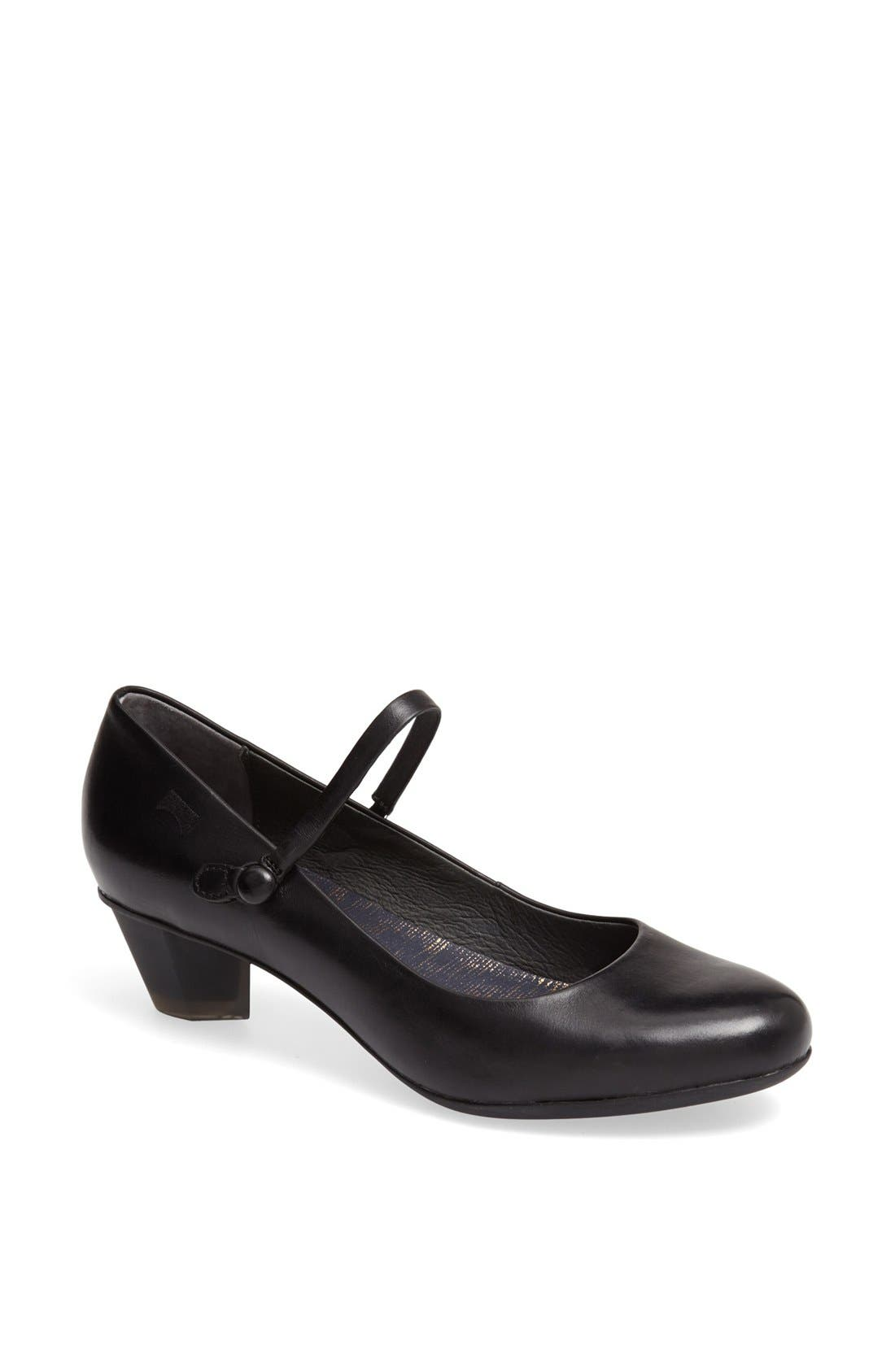 Alternate Image 1 Selected - Camper 'Kim' Leather Mary Jane Pump