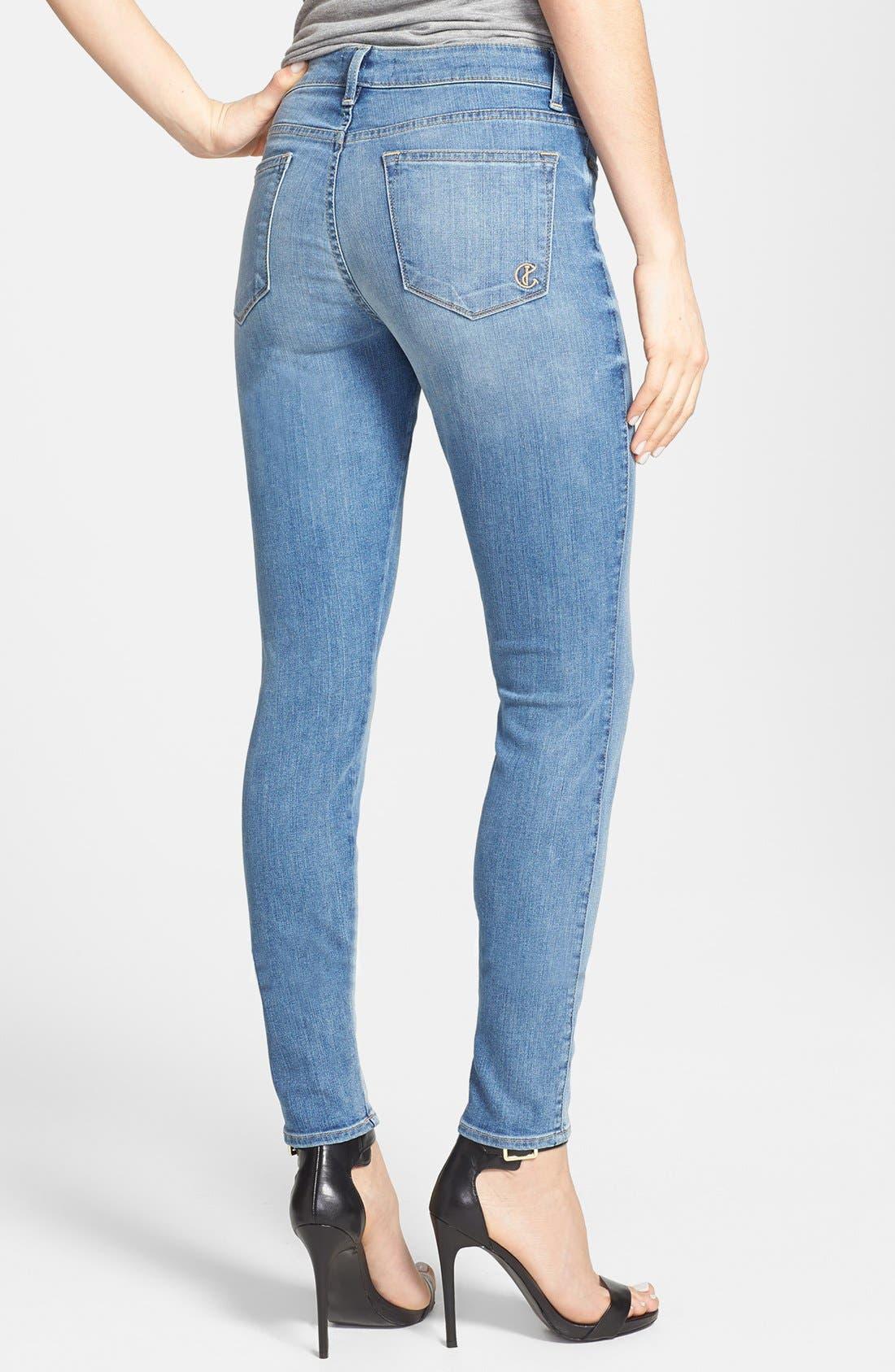 Alternate Image 2  - CJ by Cookie Johnson 'Joy' Stretch Skinny Jeans (Syreeta)