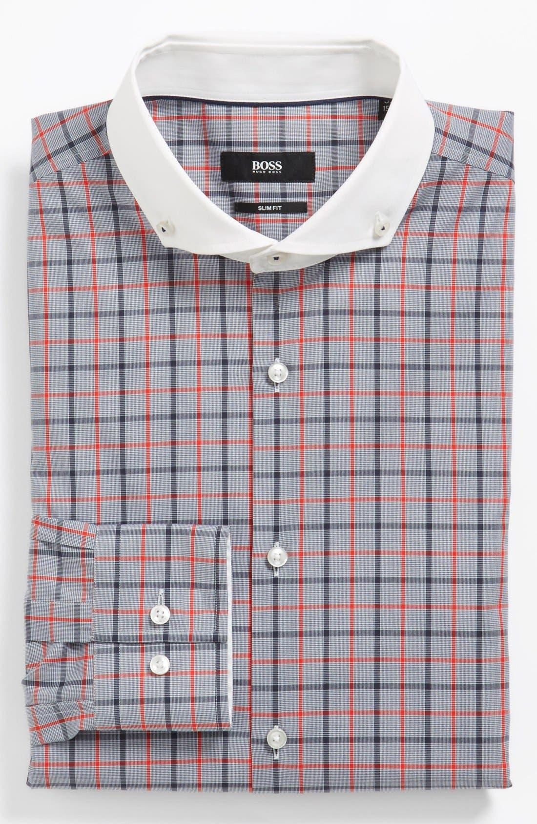 Alternate Image 1 Selected - BOSS HUGO BOSS 'Jennis' Slim Fit Dress Shirt