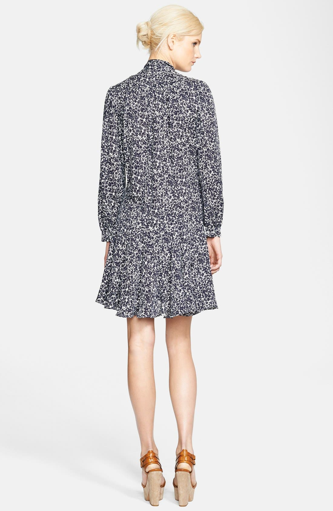 Alternate Image 2  - Michael Kors Print Silk Georgette Dress