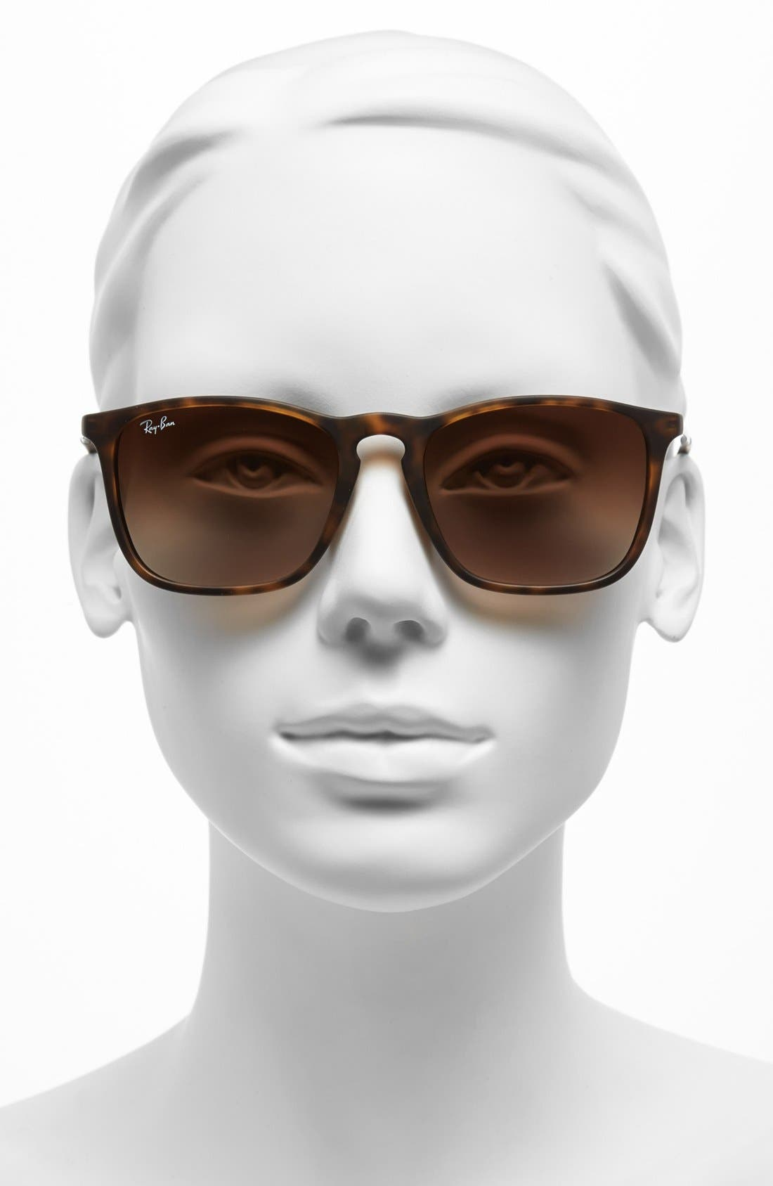 Alternate Image 2  - Ray-Ban Youngster 54mm Square Keyhole Sunglasses
