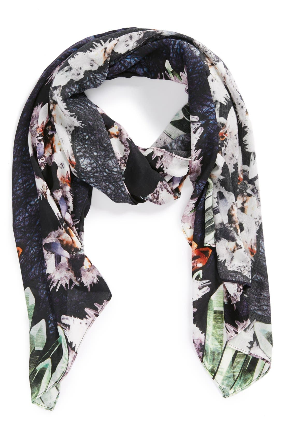 Alternate Image 1 Selected - Front Row Society 'Disambiguation Skull' Scarf