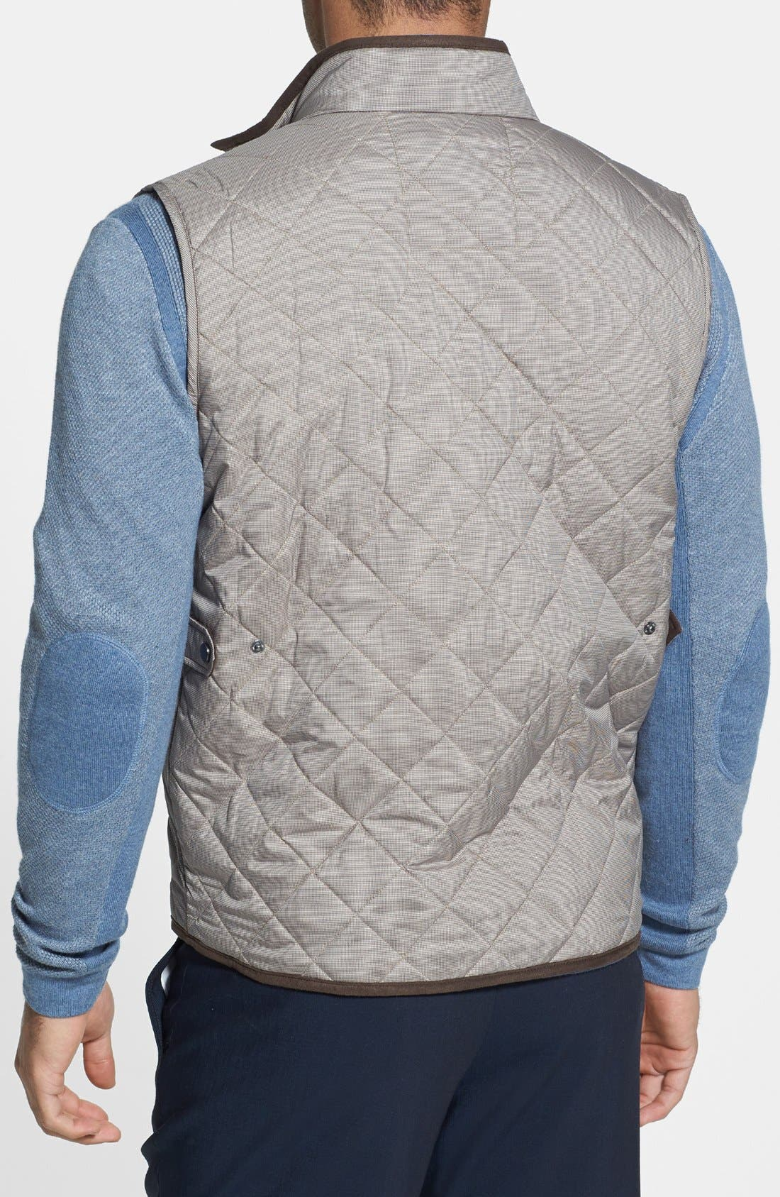 Alternate Image 2  - Peter Millar 'Potomac' Quilted Vest