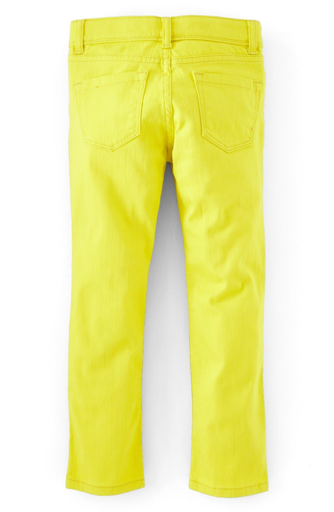 Alternate Image 2  - Mini Boden Slim Fit Twill Jeans (Little Girls & Big Girls)