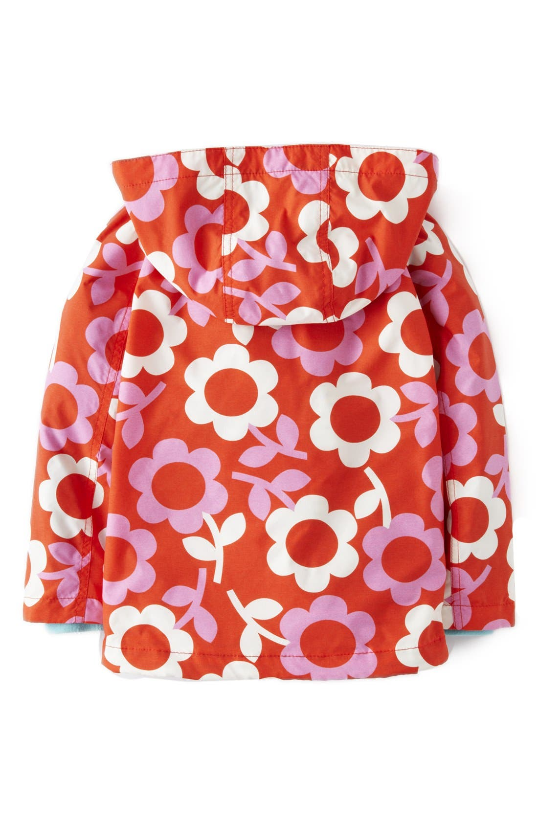 Alternate Image 2  - Mini Boden Jersey Lined Hooded Anorak (Toddler Girls, Little Girls & Big Girls)