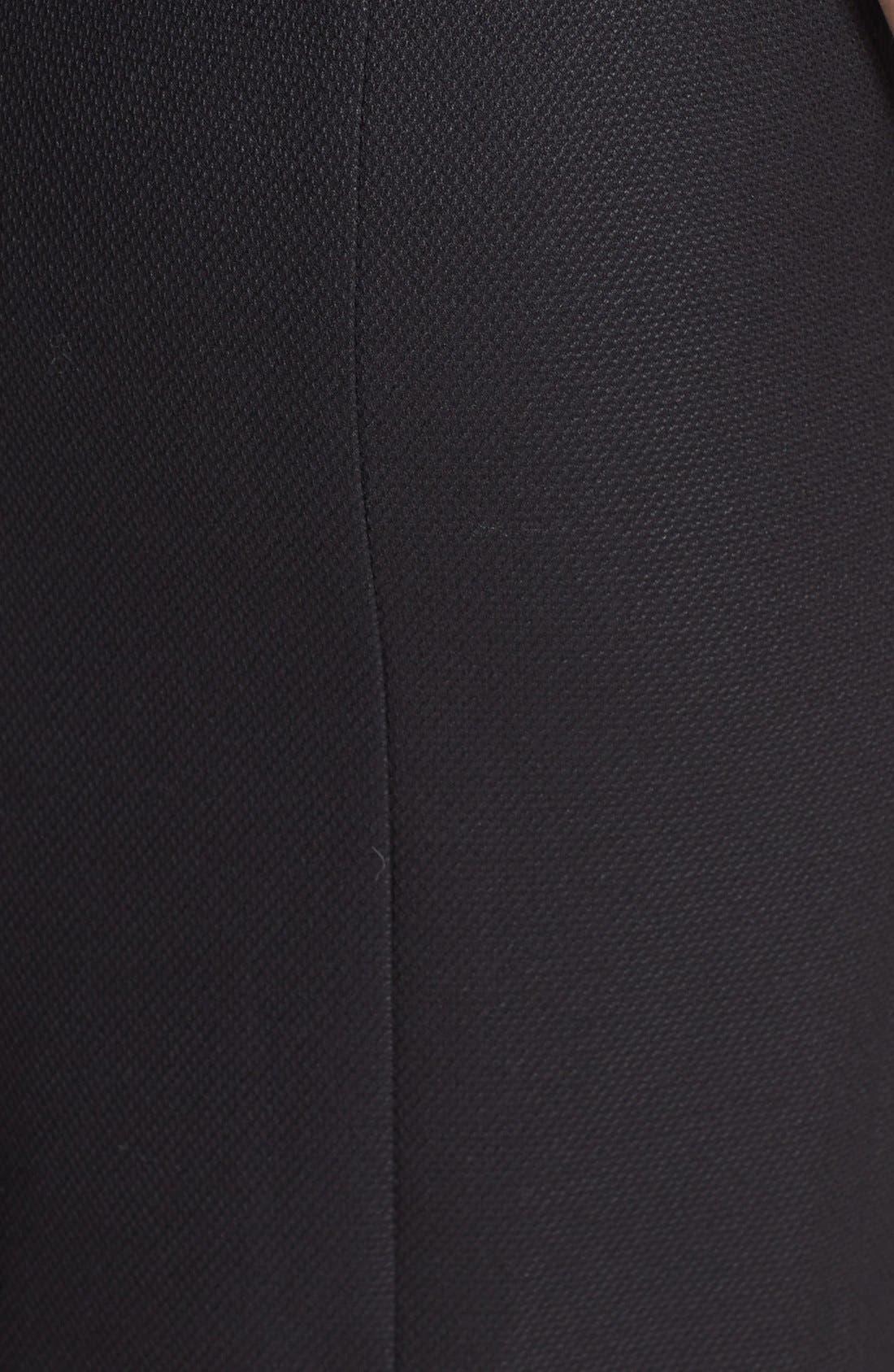 Alternate Image 3  - Halogen® Diamond Stretch Suit Skirt (Petite)
