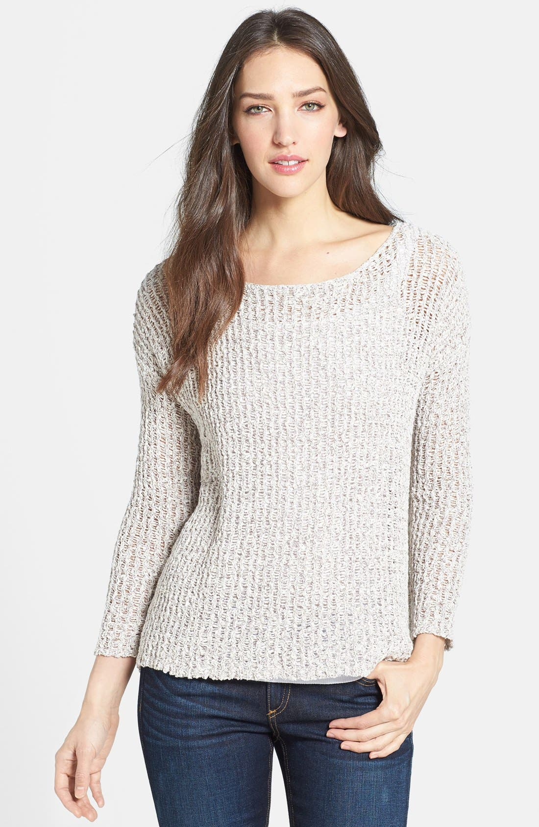Alternate Image 1 Selected - Joie 'Esther' Open Knit Sweater