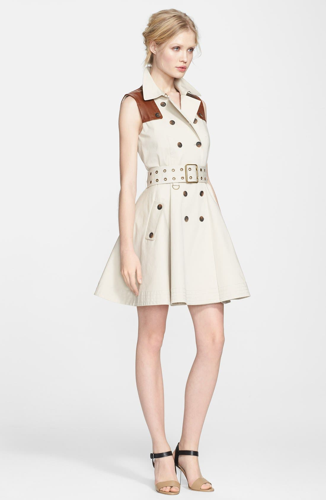 Alternate Image 1 Selected - Rachel Zoe Trench Dress & Accessories