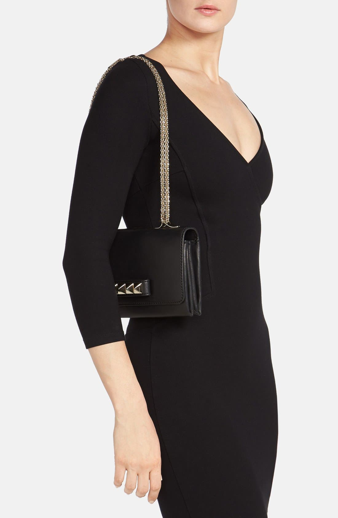 Alternate Image 2  - Valentino 'Va Va Voom' Nappa Leather Shoulder Bag