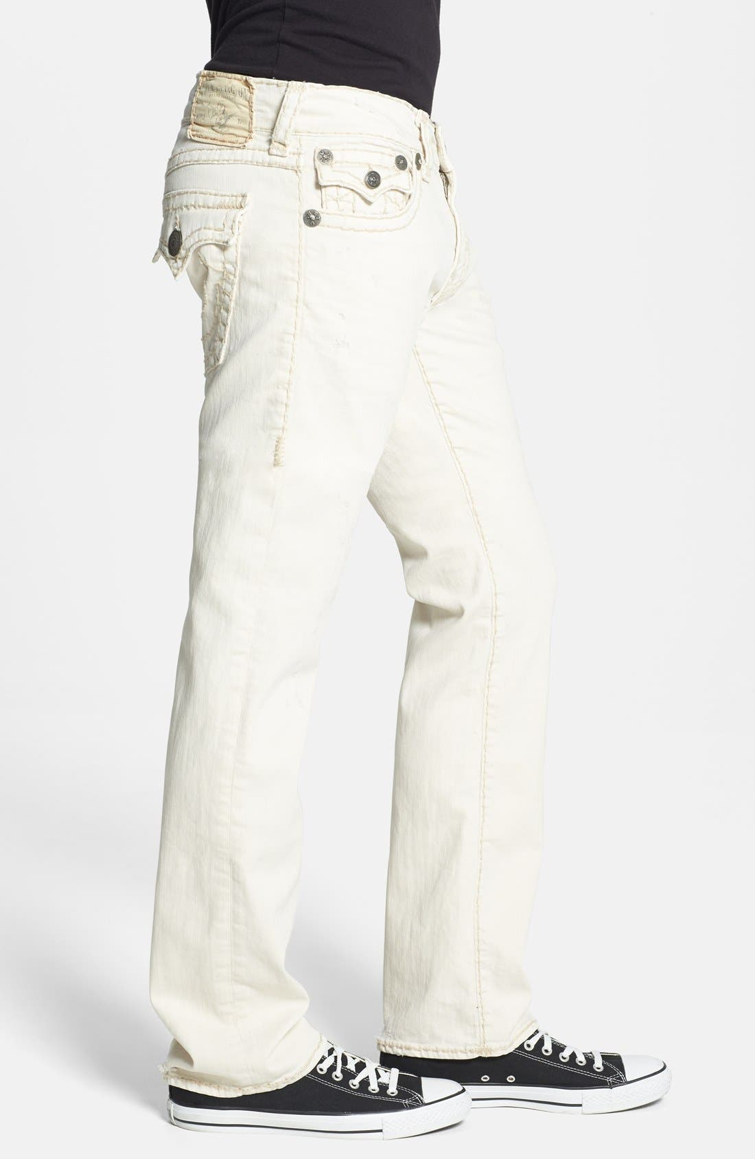 Alternate Image 3  - True Religion Brand Jeans 'Ricky' Relaxed Fit Jeans (Bak Joshua Tree)