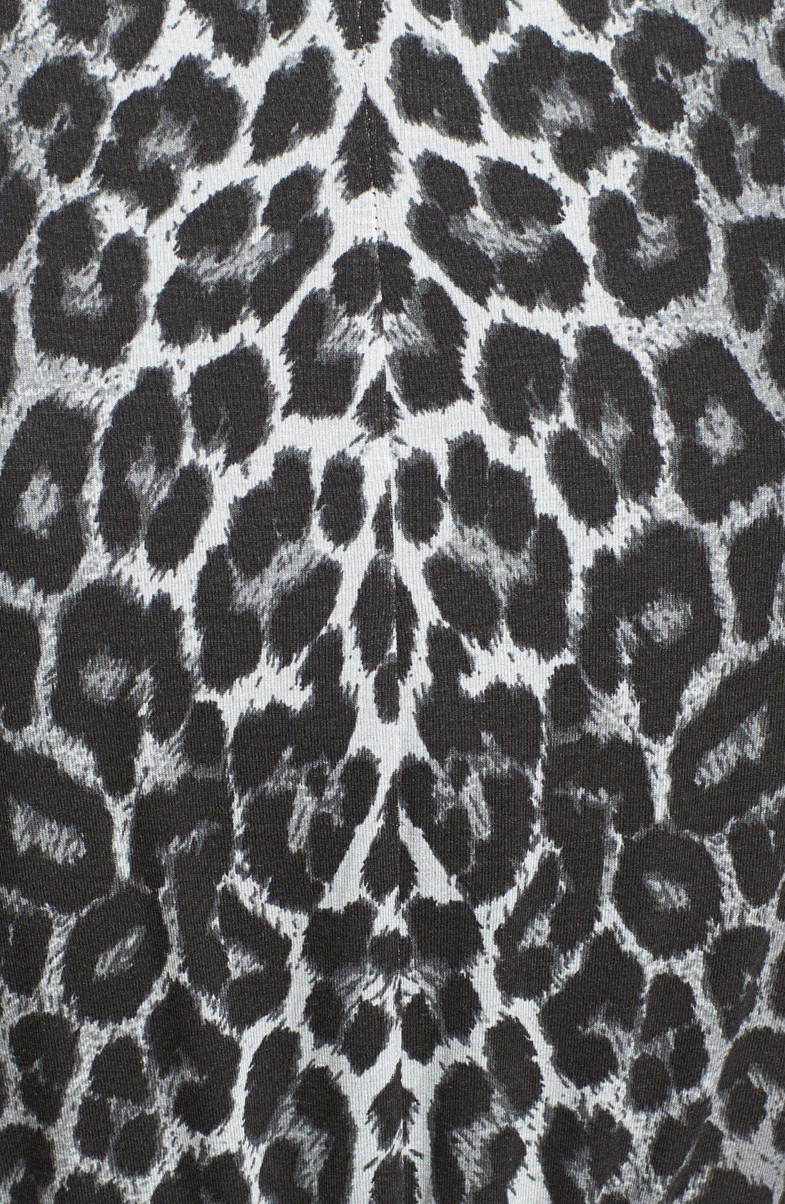 Alternate Image 3  - Evans Animal Print Maxi Dress (Plus Size)