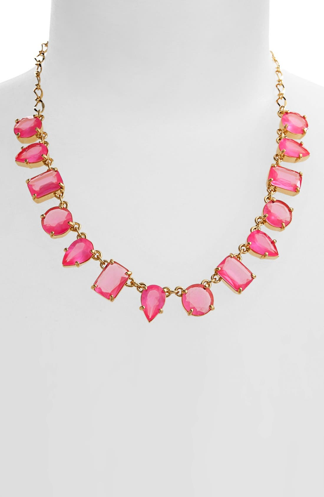 Main Image - kate spade new york 'gumdrop gems' stone frontal necklace