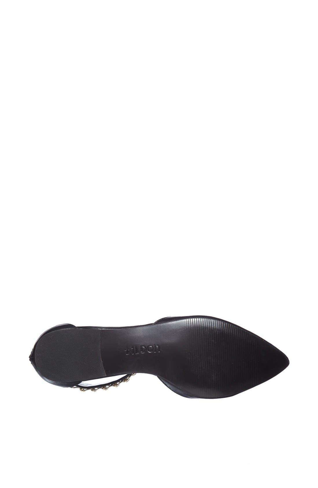 Alternate Image 4  - Tildon 'Anya' Ankle Strap D'Orsay Flat