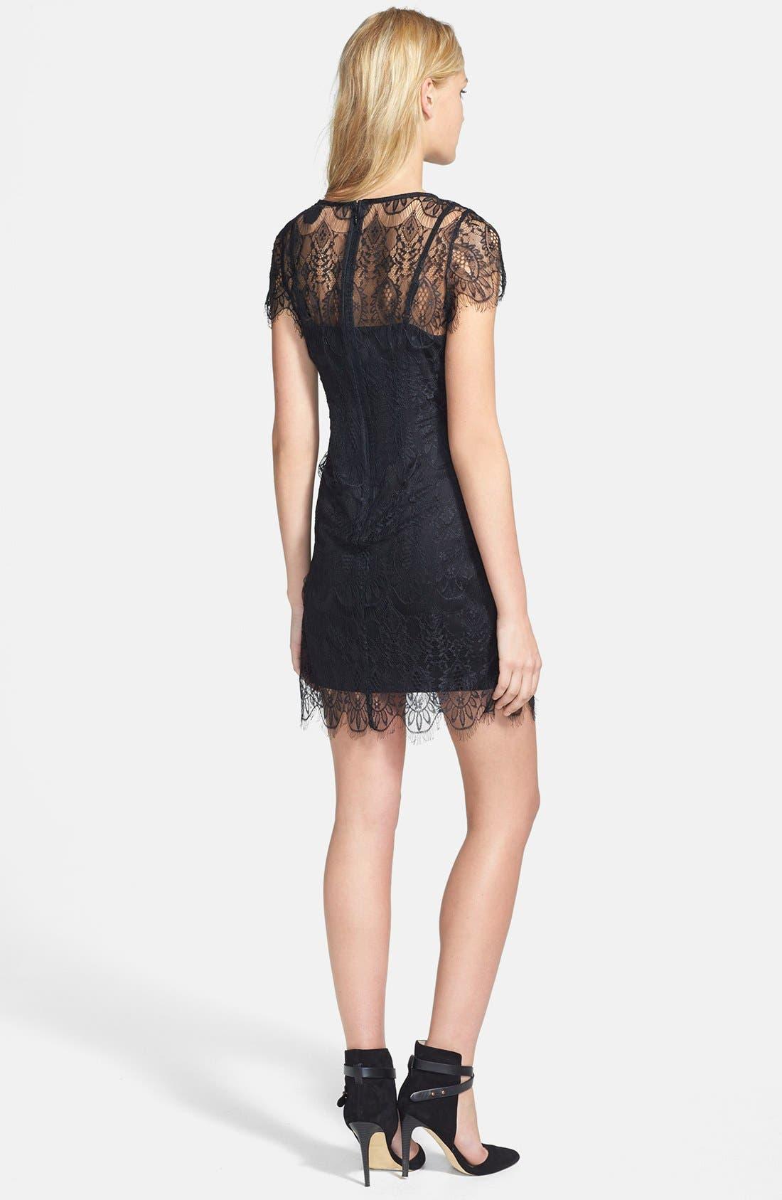 Alternate Image 2  - MINKPINK 'Surrender' Illusion Yoke Lace Dress