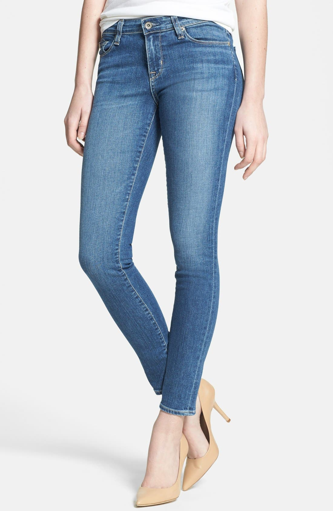 Main Image - Big Star 'Alex' Stretch Skinny Jeans (Holly Medium)