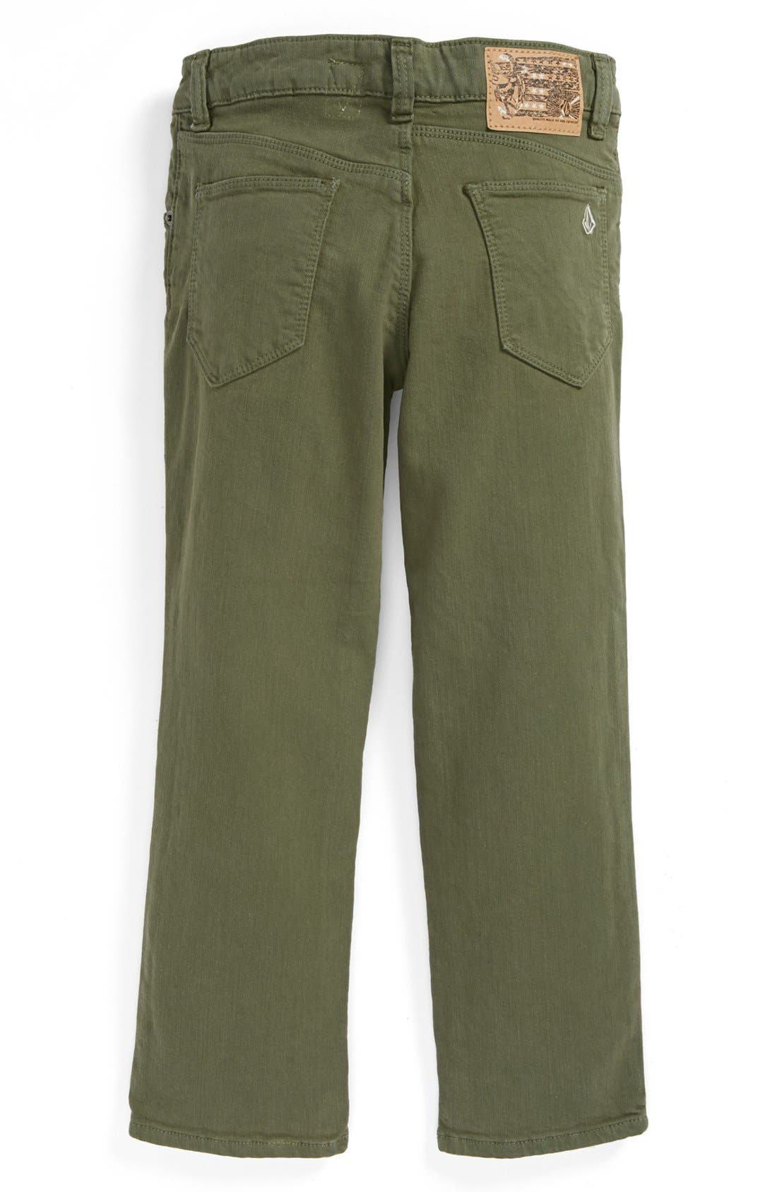 Alternate Image 1 Selected - Volcom 'Riser' Skinny Jeans (Little Boys & Big Boys)