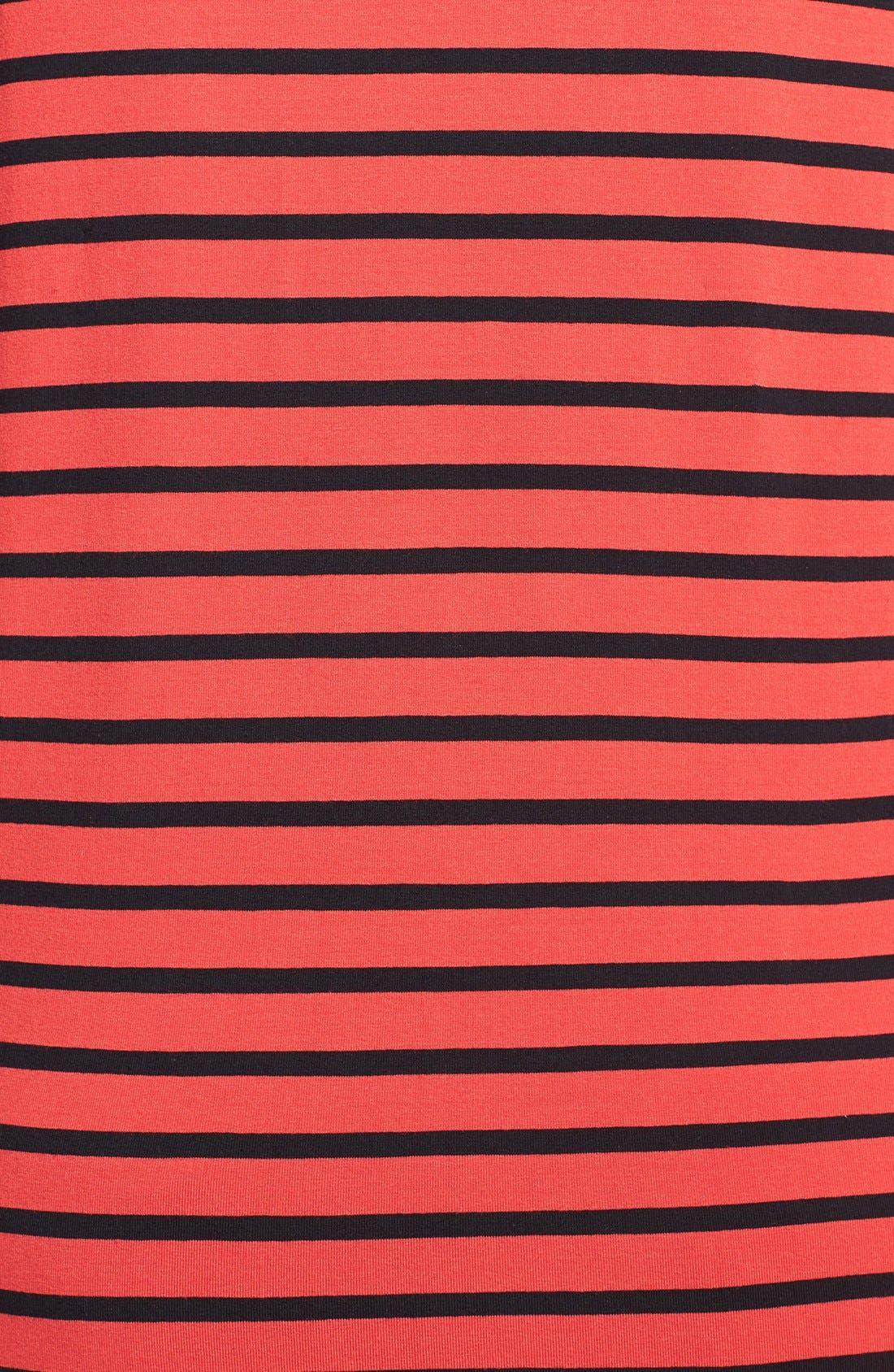Alternate Image 3  - Vince Camuto 'Retro Stripes' Asymmetrical Tunic (Plus Size)