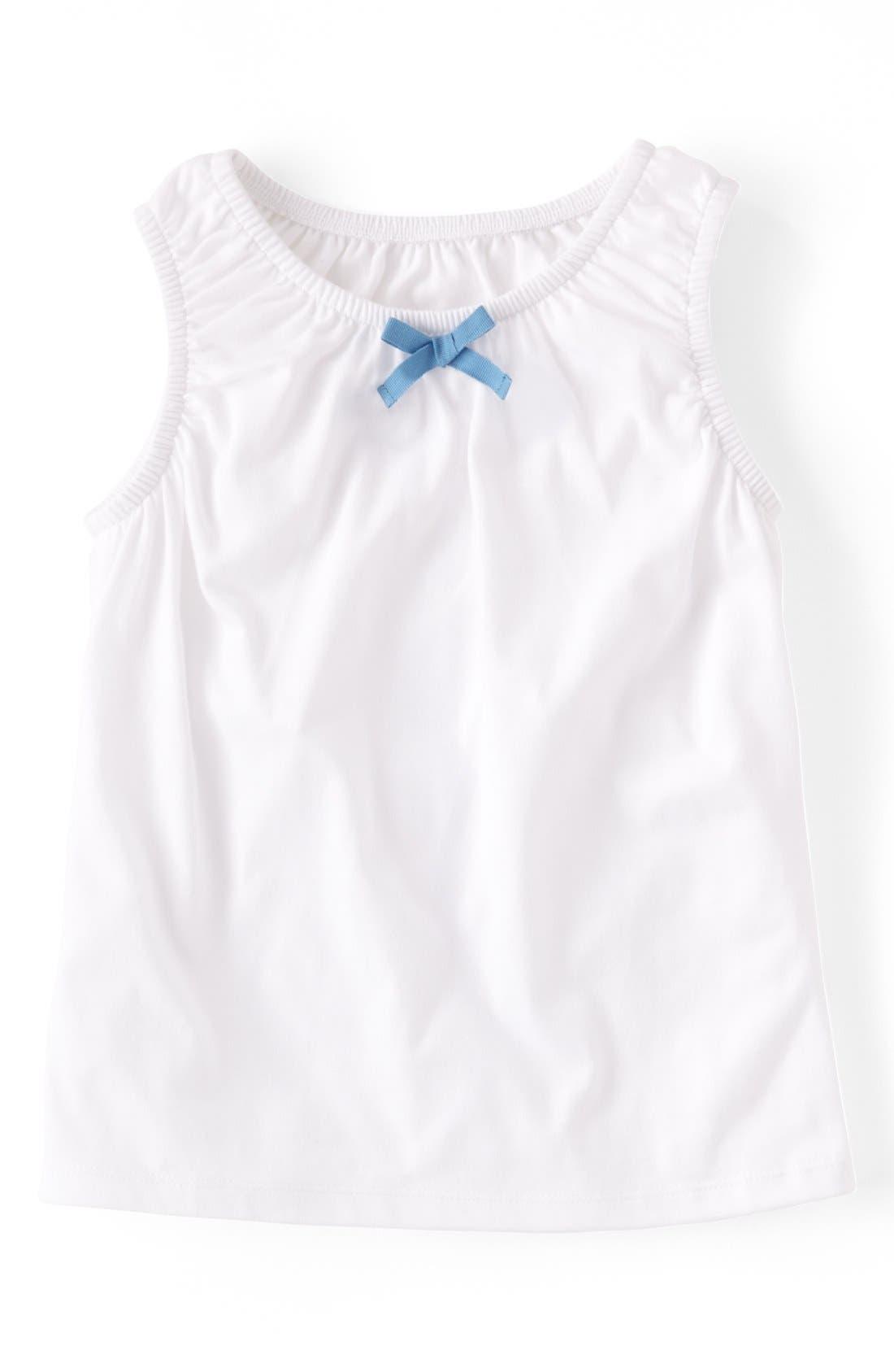 Alternate Image 1 Selected - Mini Boden 'Pretty' Tank Top (Toddler Girls, Little Girls & Big Girls)(Online Only)
