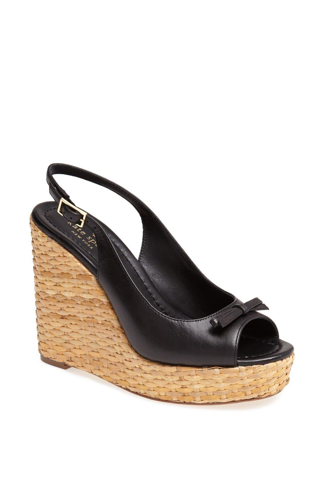 Main Image - kate spade new york 'della' wedge sandal