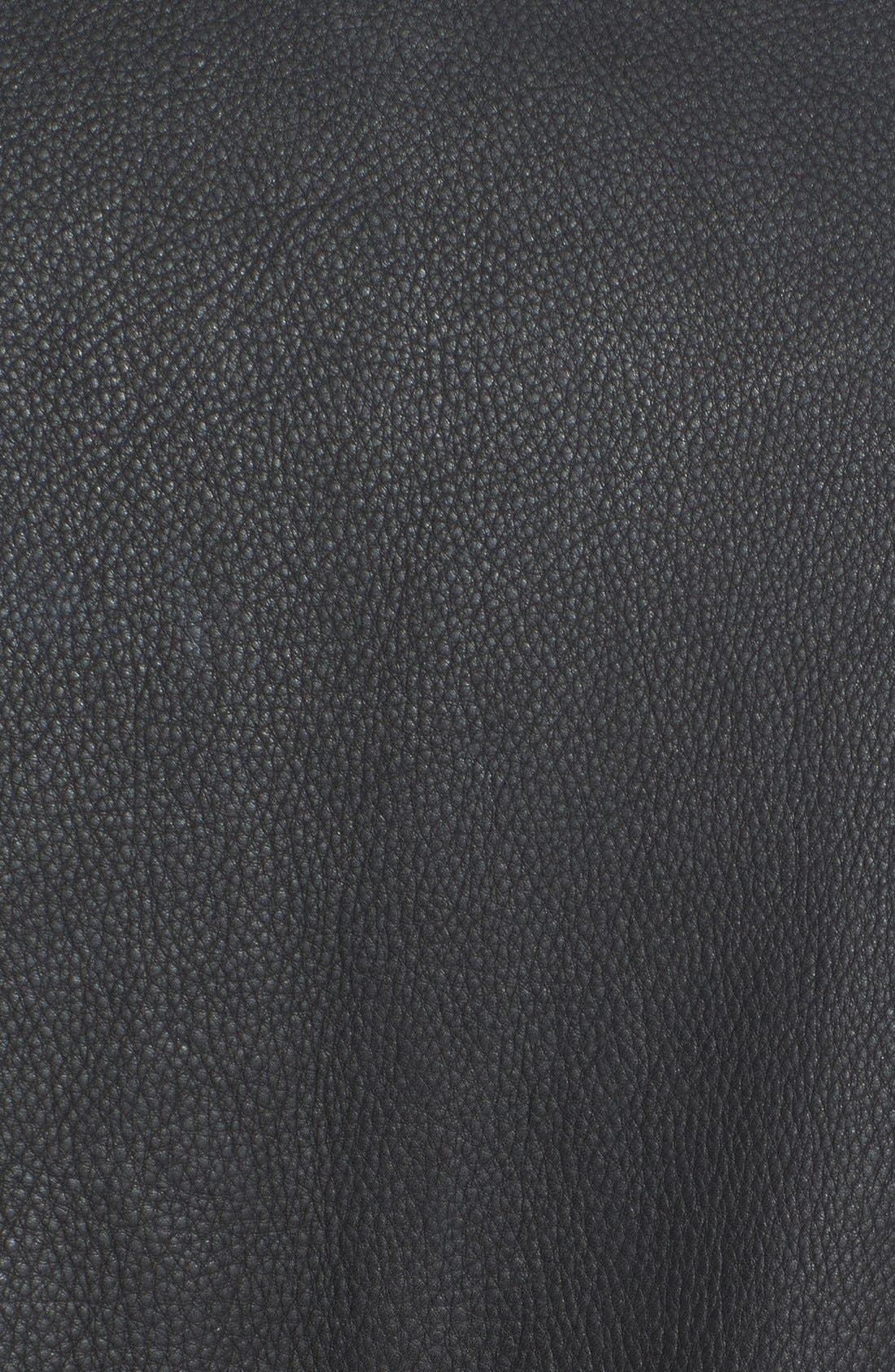 Alternate Image 3  - Cole Haan Leather Bomber Jacket