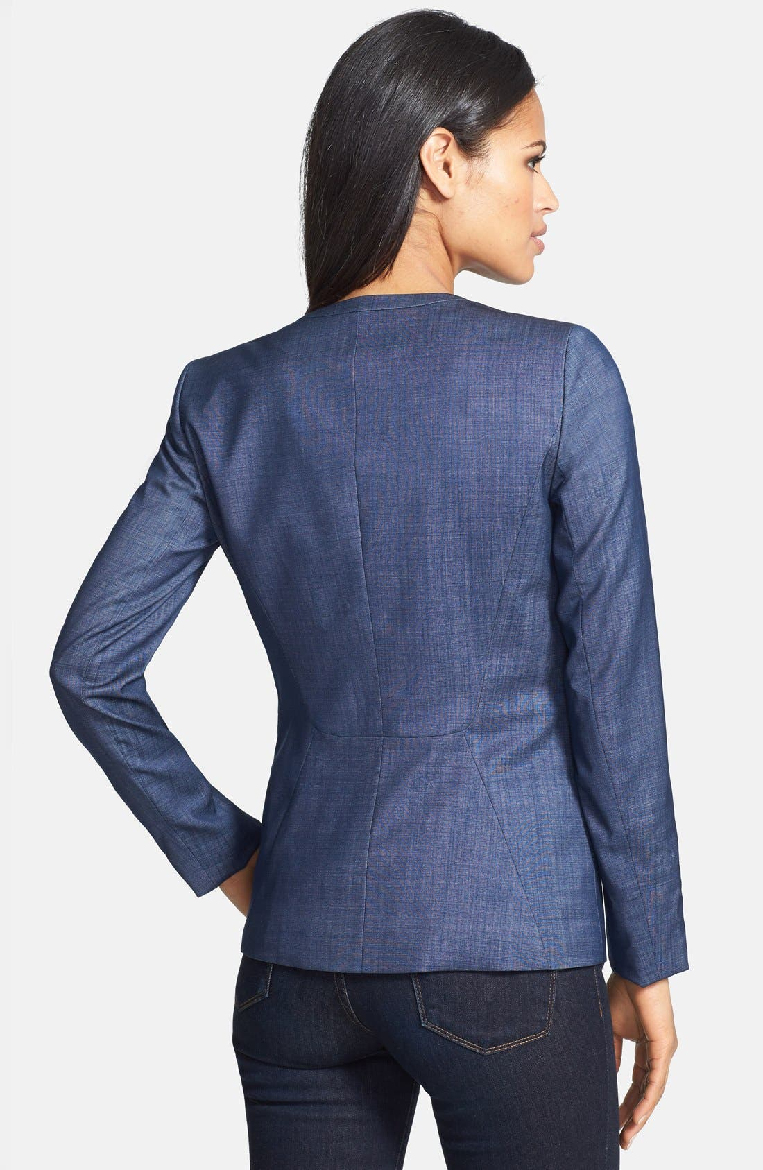 Alternate Image 2  - Lafayette 148 New York 'Janelle - Regent Suiting' Jacket