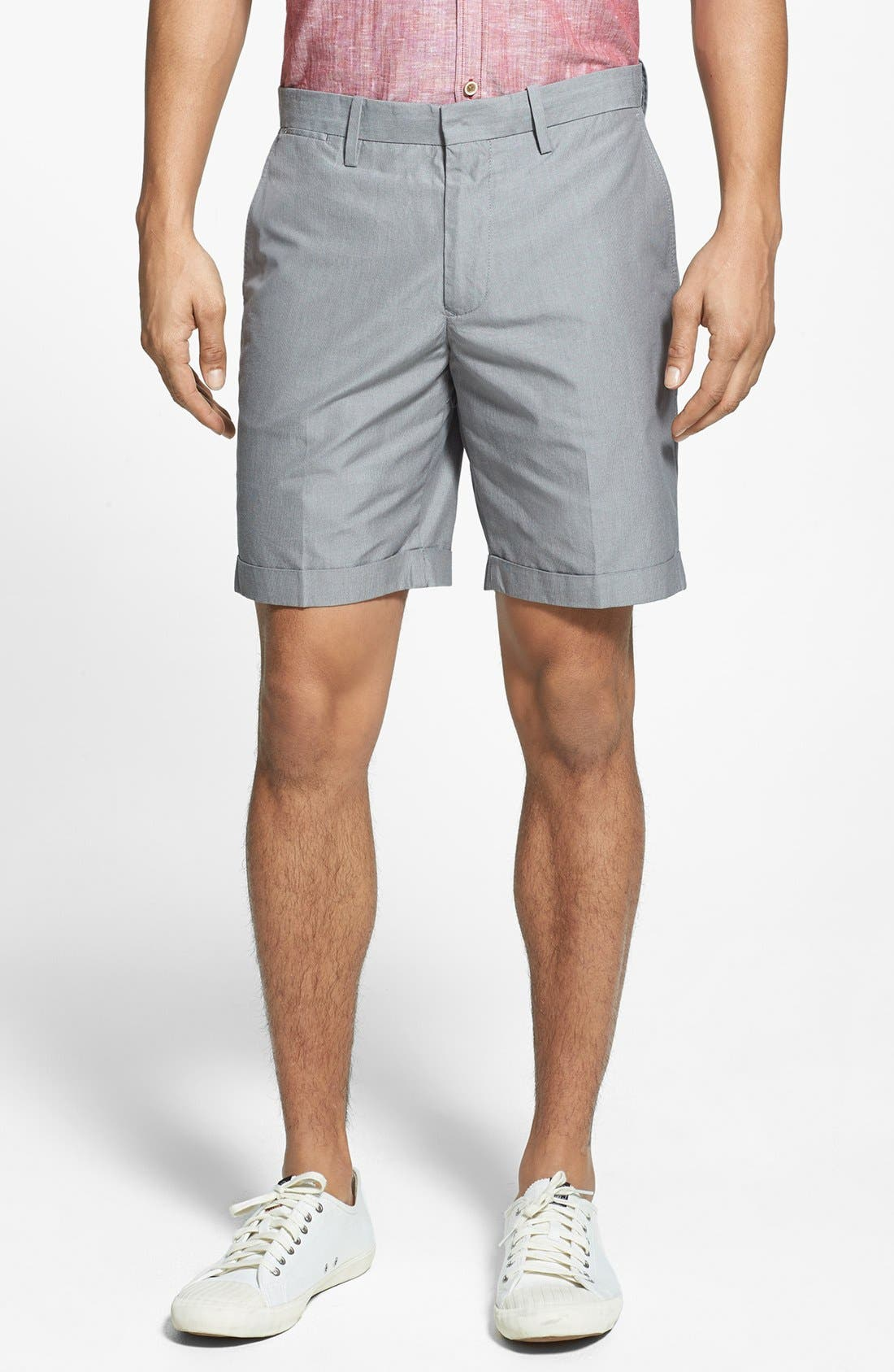 Main Image - Original Penguin Tailored Cuffed Trouser Shorts