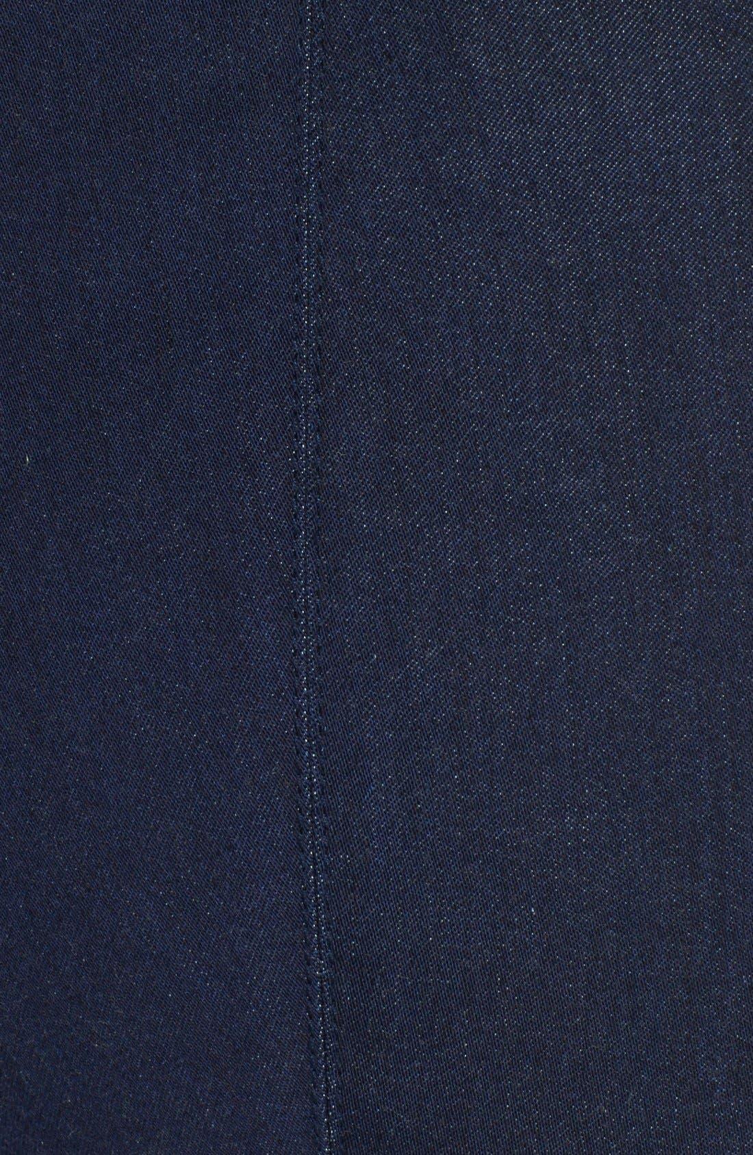 Alternate Image 5  - St. John Yellow Label Soft Stretch Denim Leggings