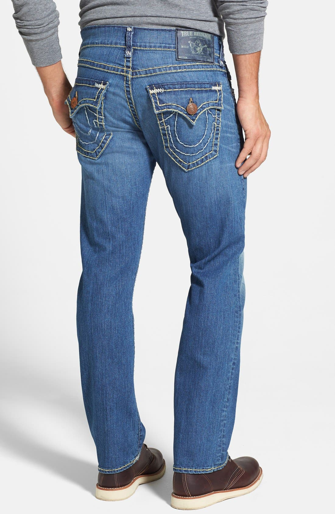 Alternate Image 1 Selected - True Religion Brand Jeans 'Ricky' Relaxed Fit Jeans (Azwl Malibu Cruise)
