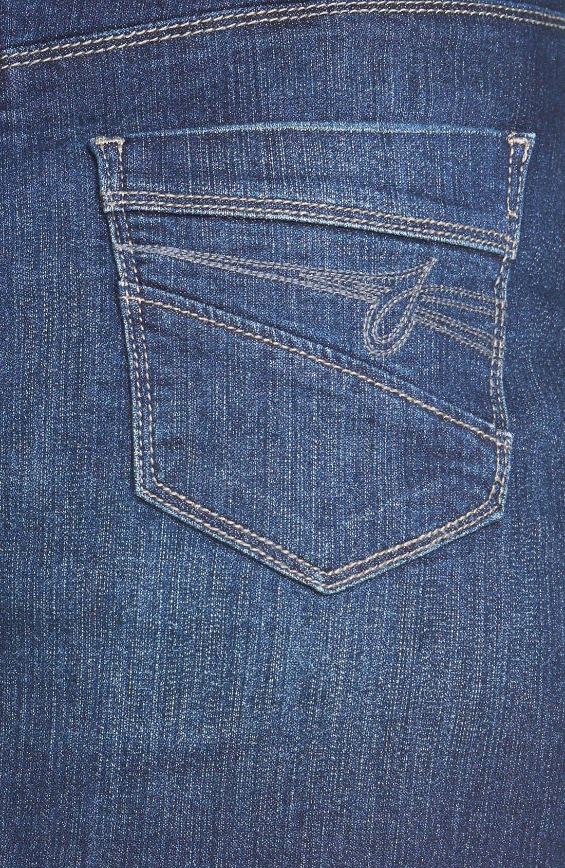 Alternate Image 3  - Jag Jeans 'Eloise' Pull-On Stretch Denim Skirt (Regular & Petite)