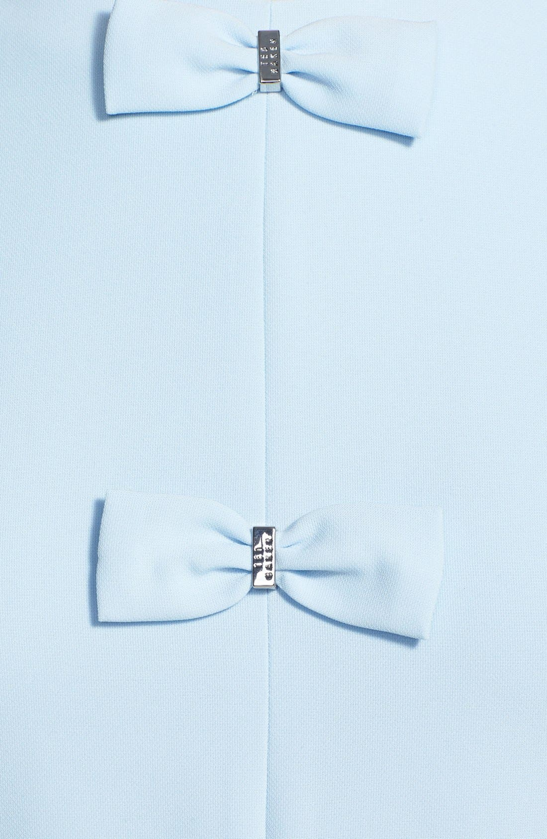 Alternate Image 3  - Ted Baker London Bow Detail Stretch A-Line Dress