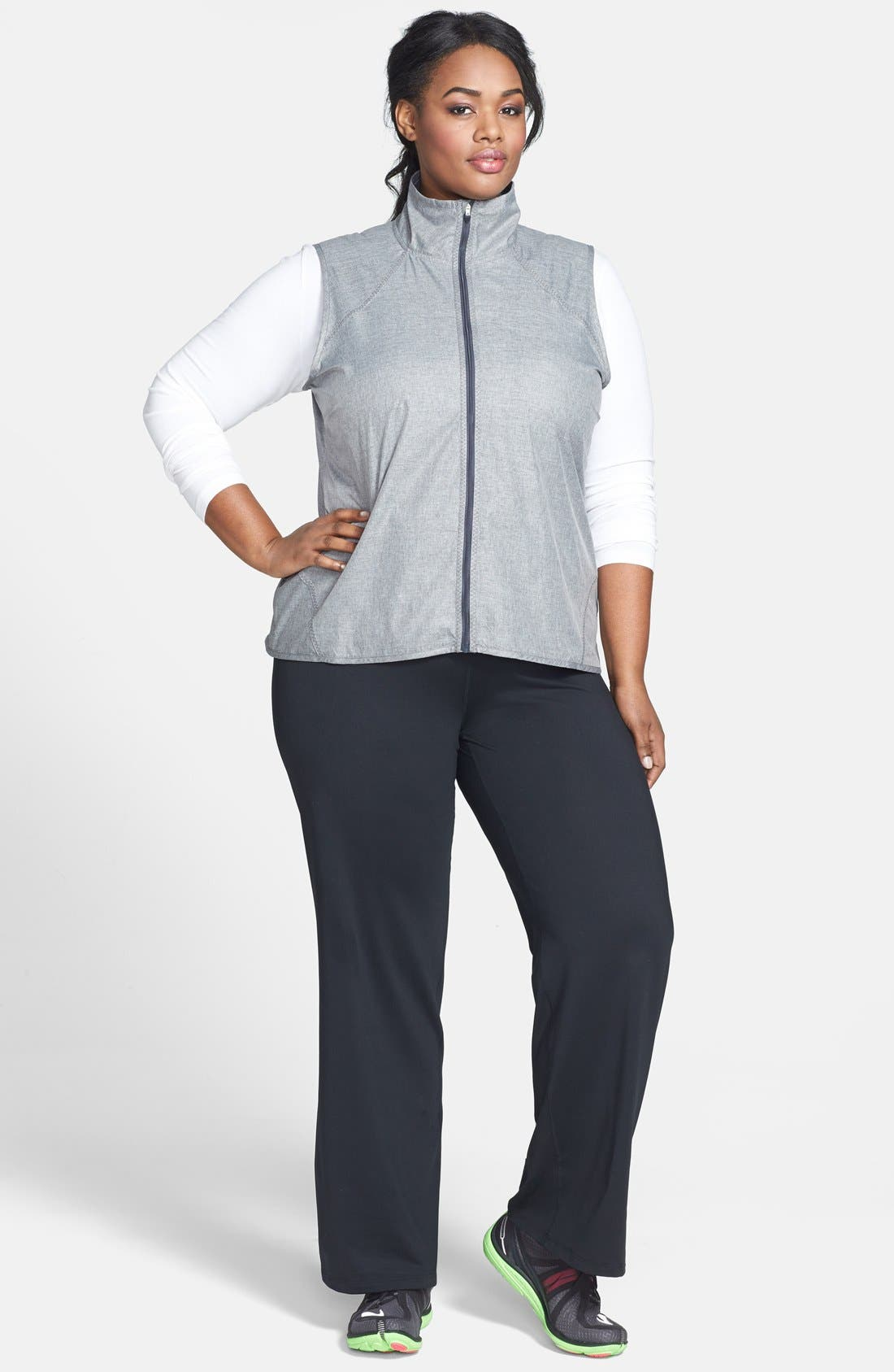Alternate Image 3  - Moving Comfort 'Fearless' Pants (UPF 50) (Plus Size)