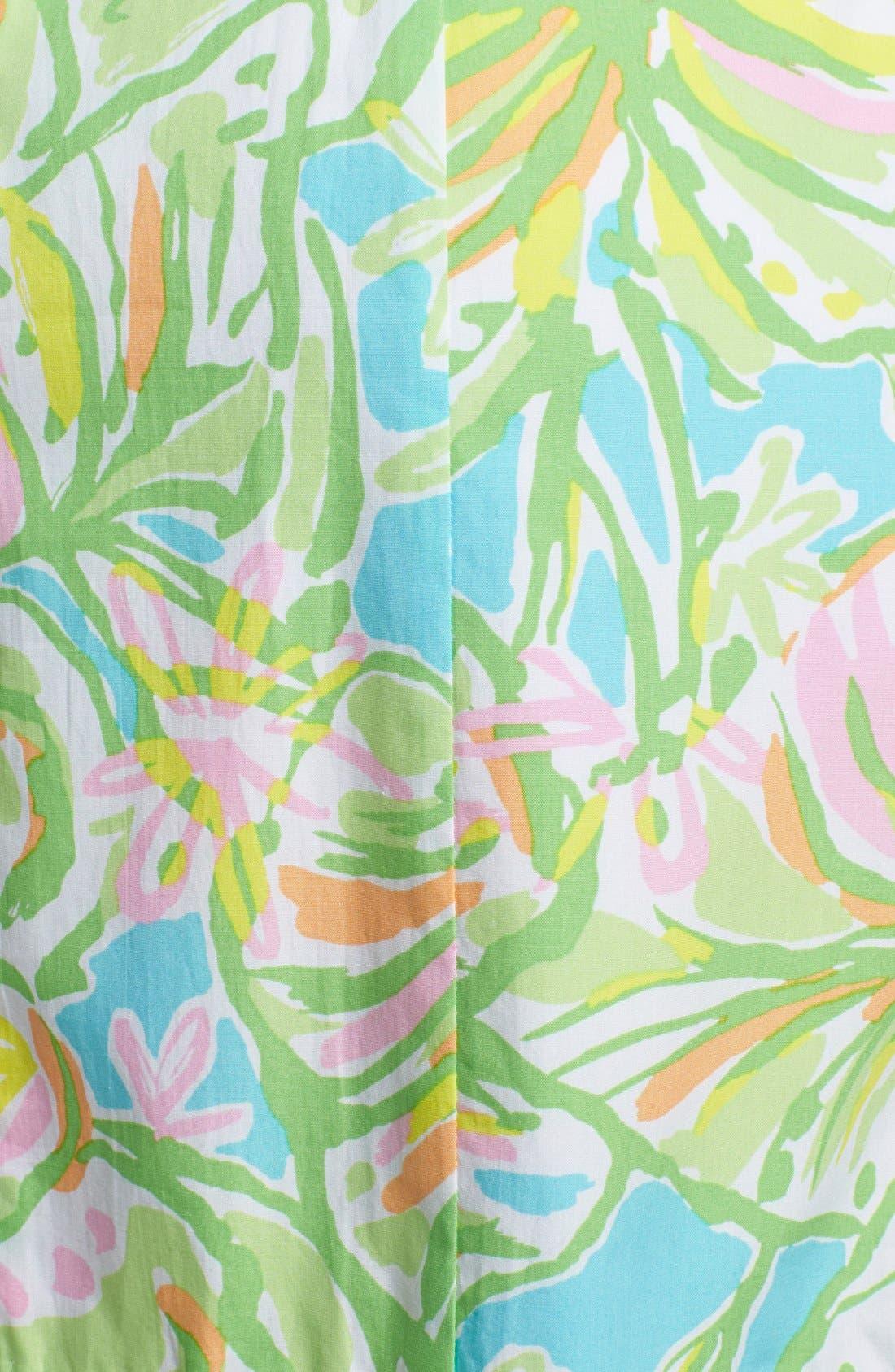 Alternate Image 3  - Lilly Pulitzer® 'Fryer' Print Cotton Poplin Shift Dress