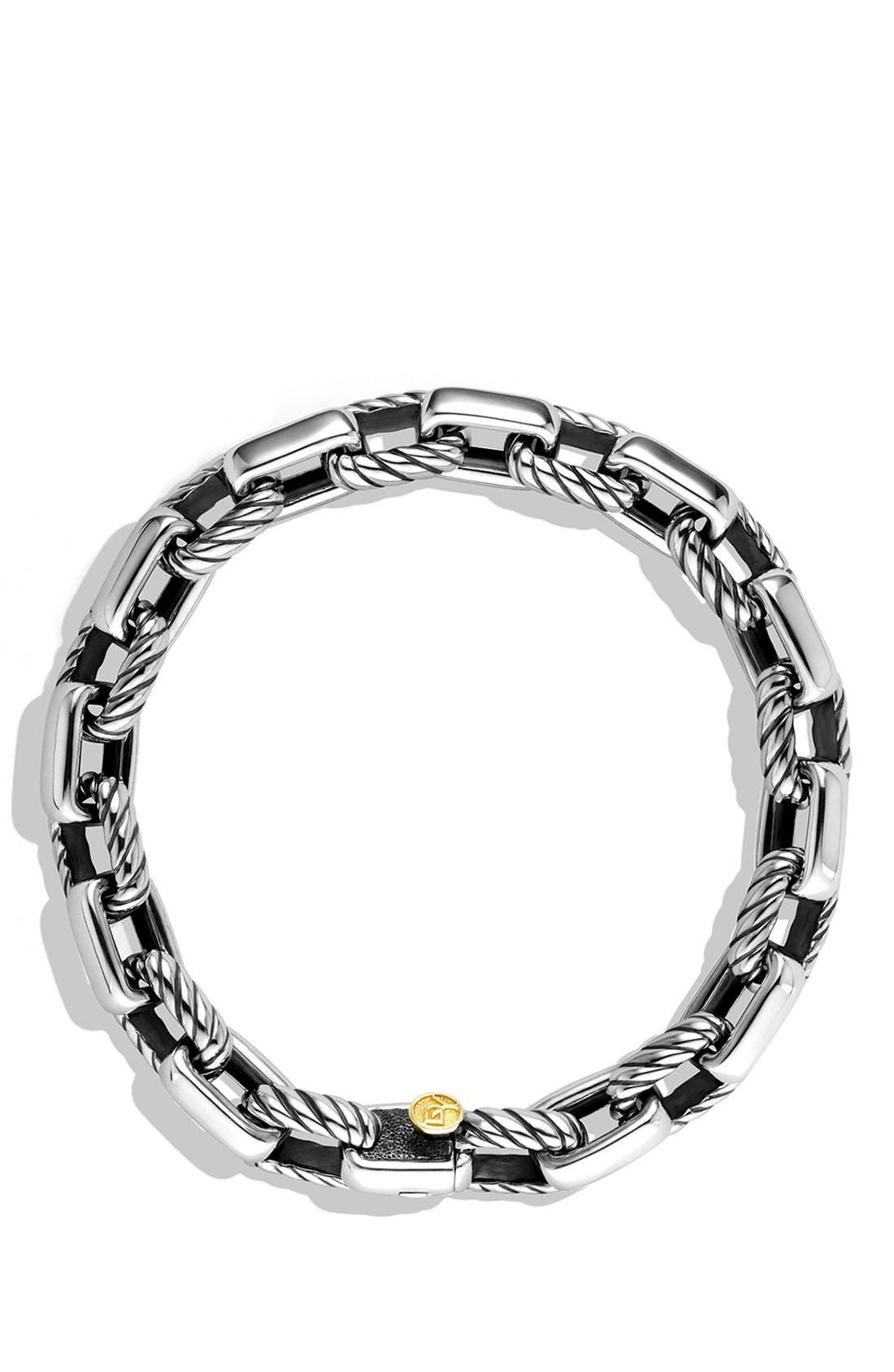 Alternate Image 2  - David Yurman 'Chain' Empire Link Bracelet with Gold