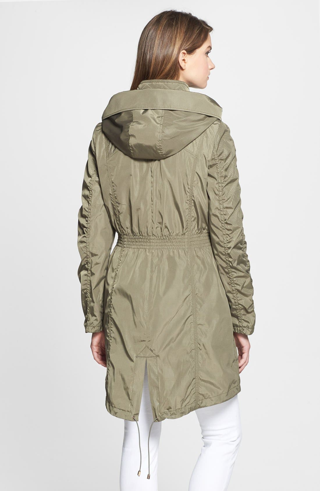 Alternate Image 2  - AB Hooded Anorak with Removable Vest