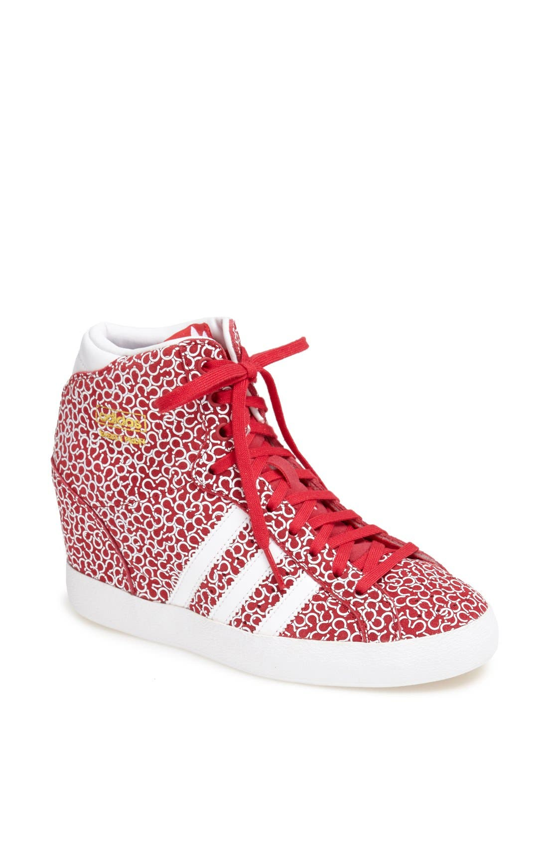 Alternate Image 1 Selected - adidas Hidden Wedge Sneaker (Women)