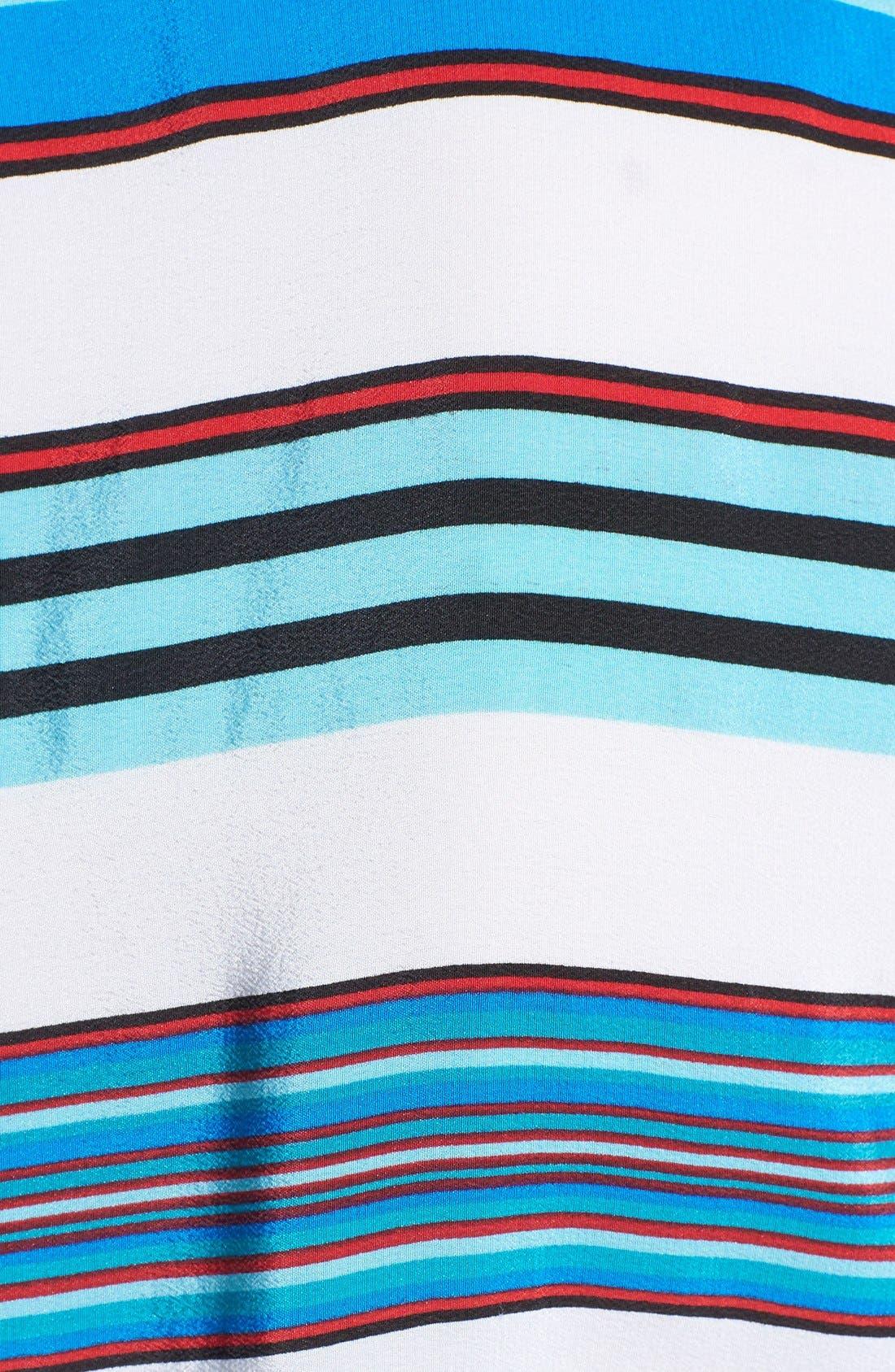 Alternate Image 3  - Equipment 'Reagan' Multi Stripe Silk Blouse