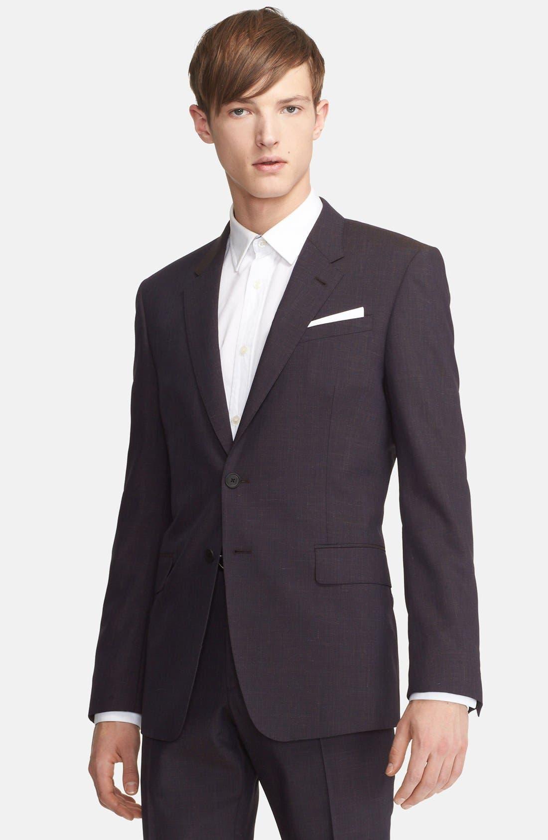 Alternate Image 3  - Paul Smith London 'Byard' Mélange Wool Blend Suit