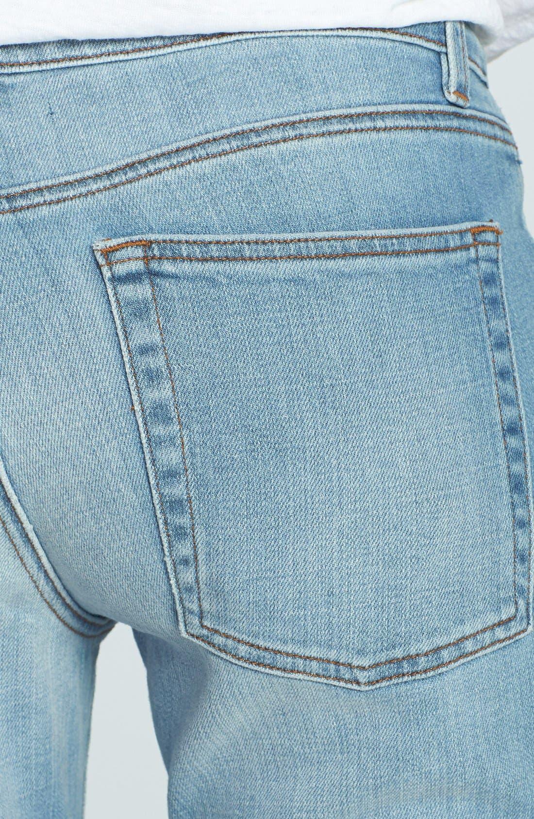 Alternate Image 3  - Eileen Fisher Boyfriend Jeans (Regular & Petite)