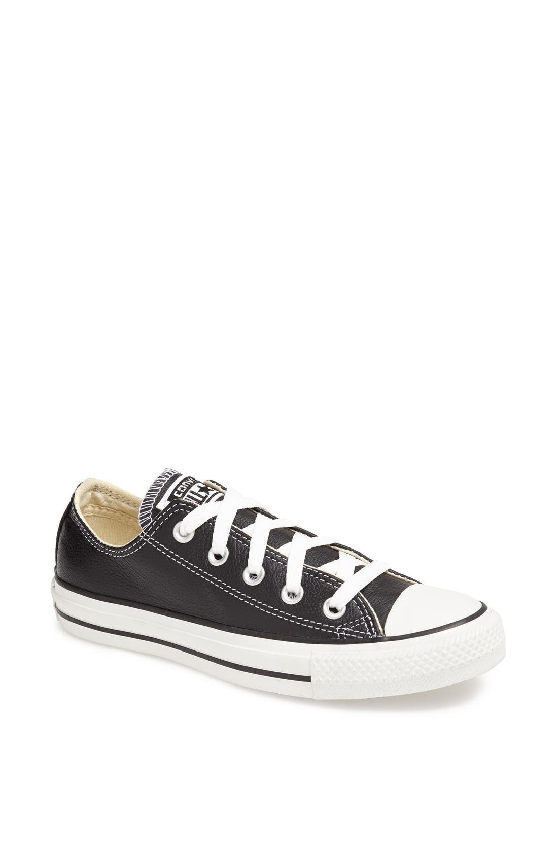 Alternate Image 1 Selected - Converse Chuck Taylor® All Star® Leather Sneaker (Women)
