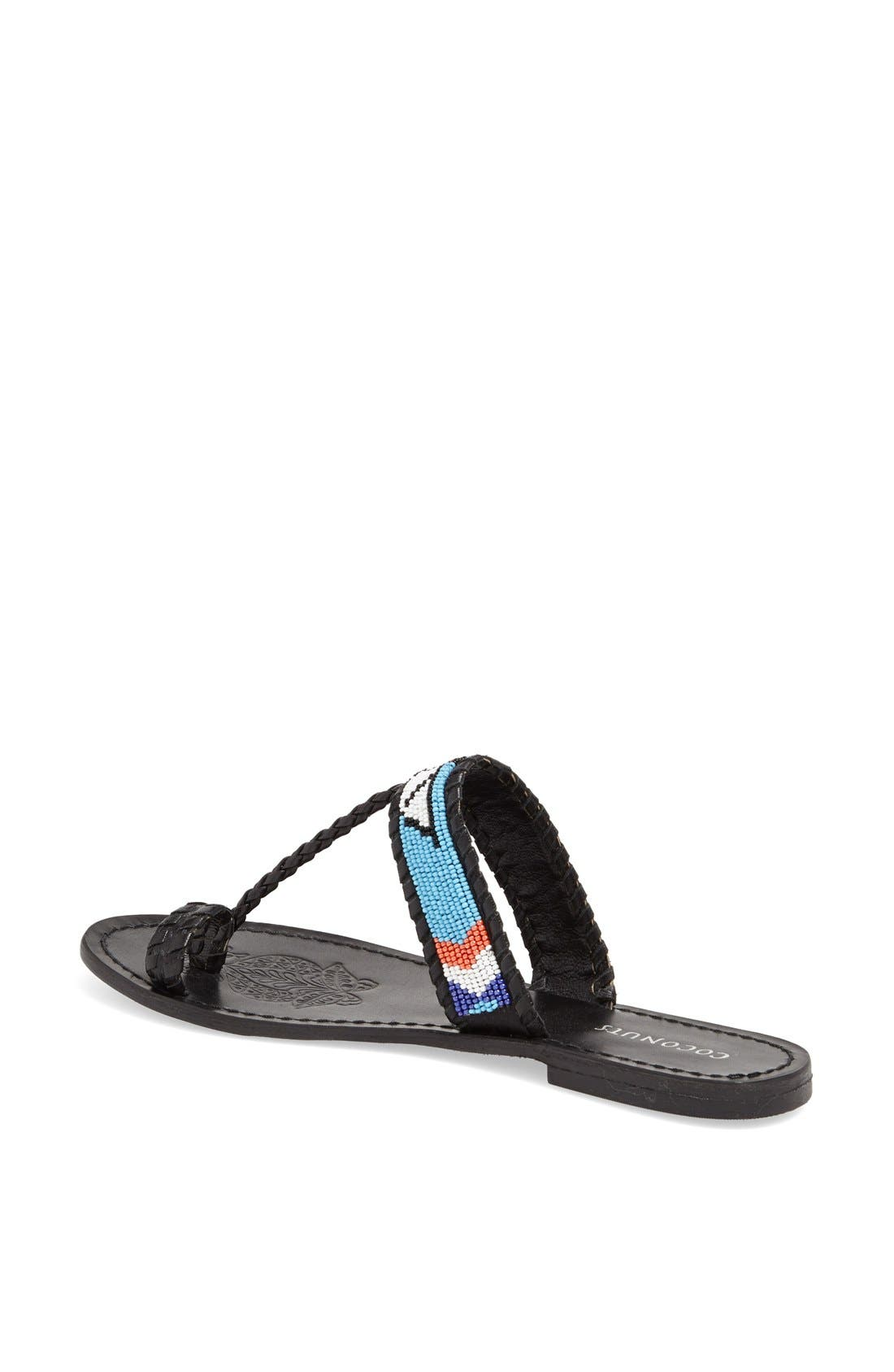 Alternate Image 2  - Coconuts by Matisse Beaded Sandal