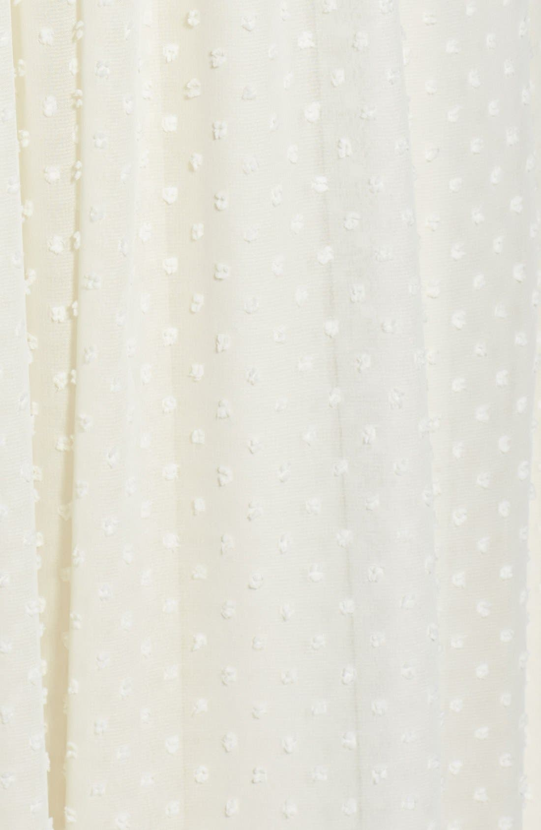Alternate Image 3  - Ivanka Trump Embellished Strapless Swiss Dot Gown