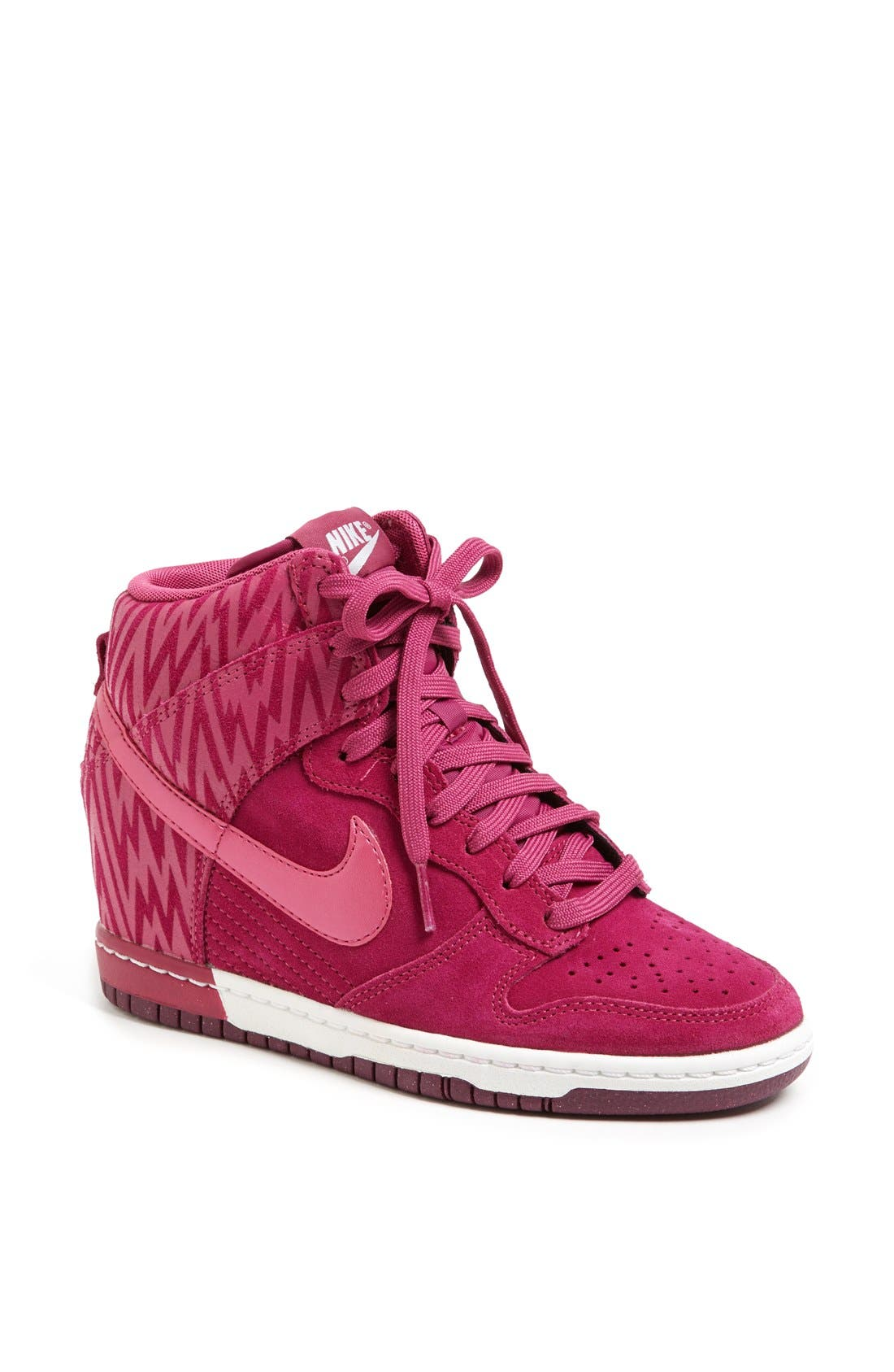 Alternate Image 1 Selected - Nike 'Dunk Sky Hi' Wedge Sneaker (Women)